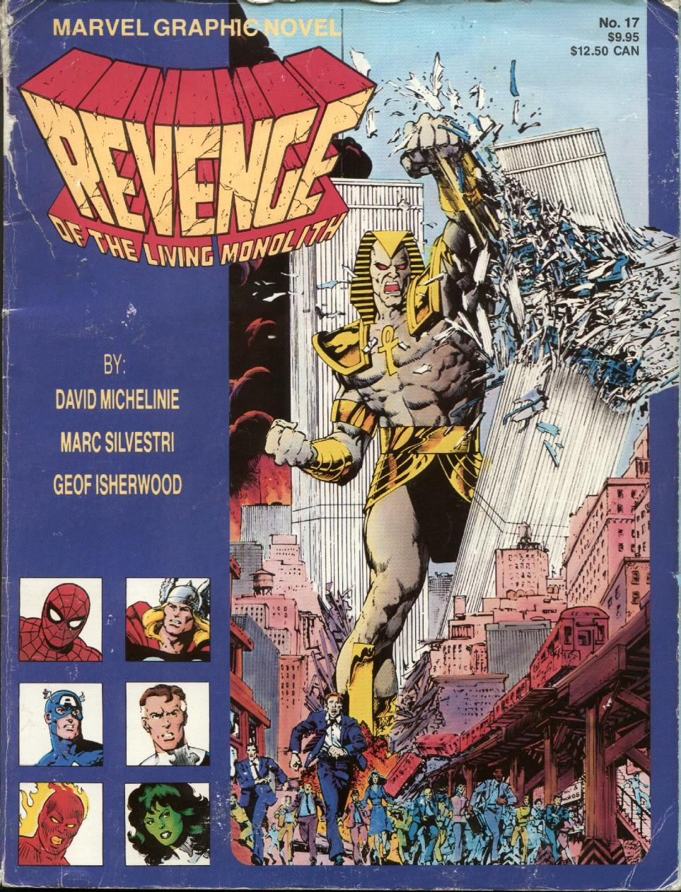 Marvel Graphic Novel 17_-_Revenge_of_the_Living_Monolith Page 1