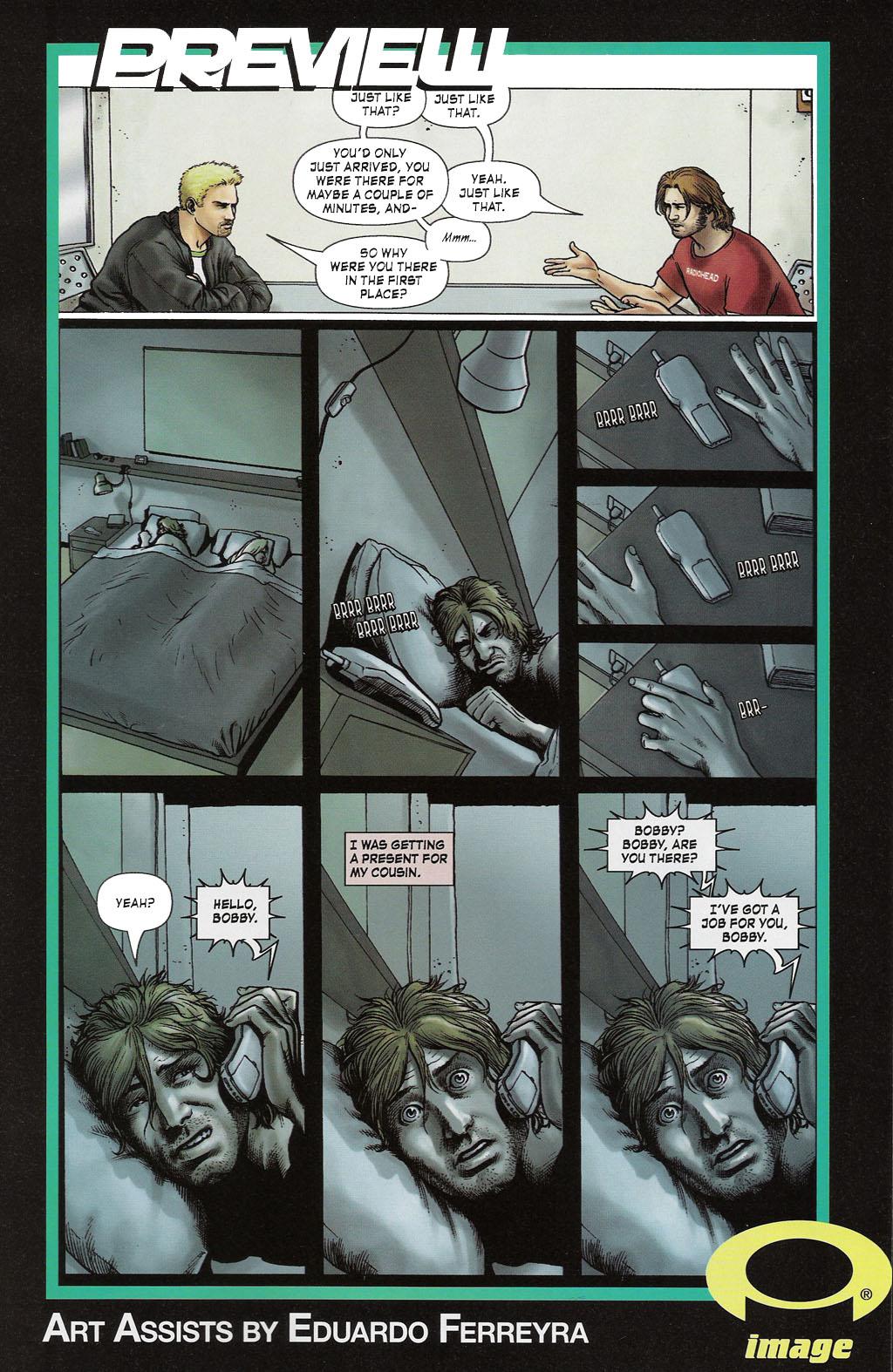Read online ShadowHawk (2005) comic -  Issue #2 - 29
