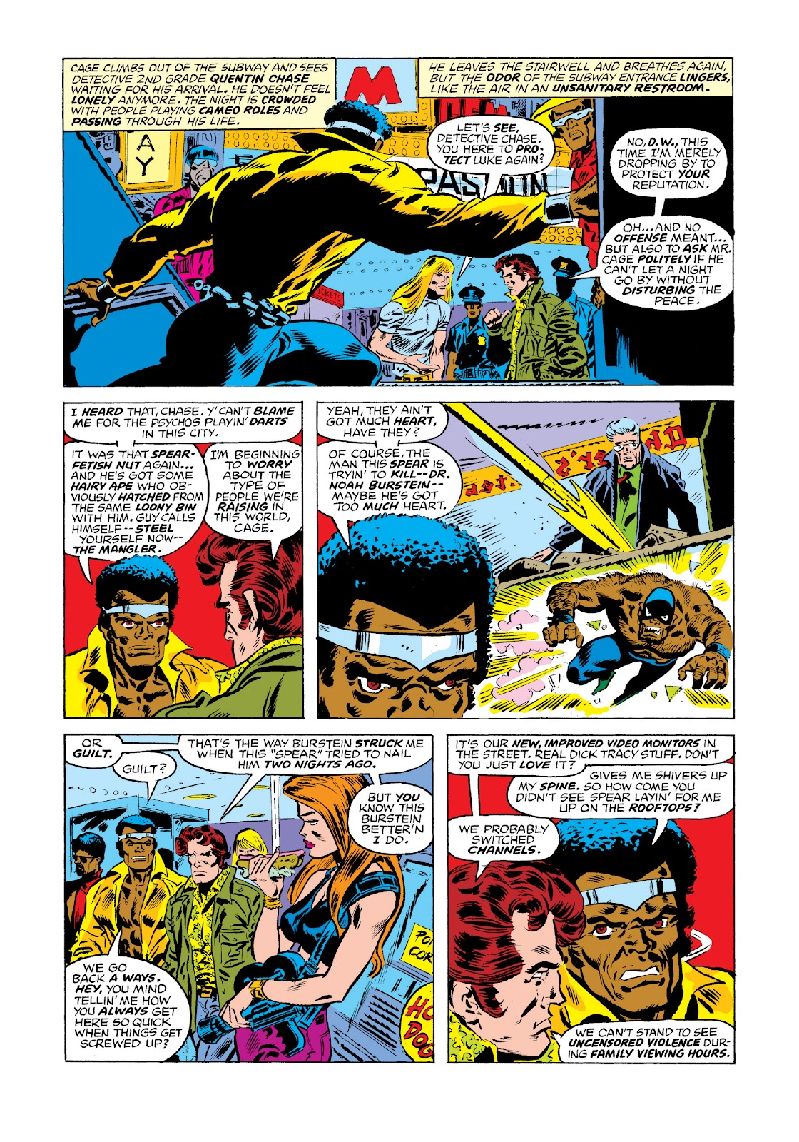 Read online Marvel Masterworks: Luke Cage, Power Man comic -  Issue # TPB 3 (Part 1) - 51