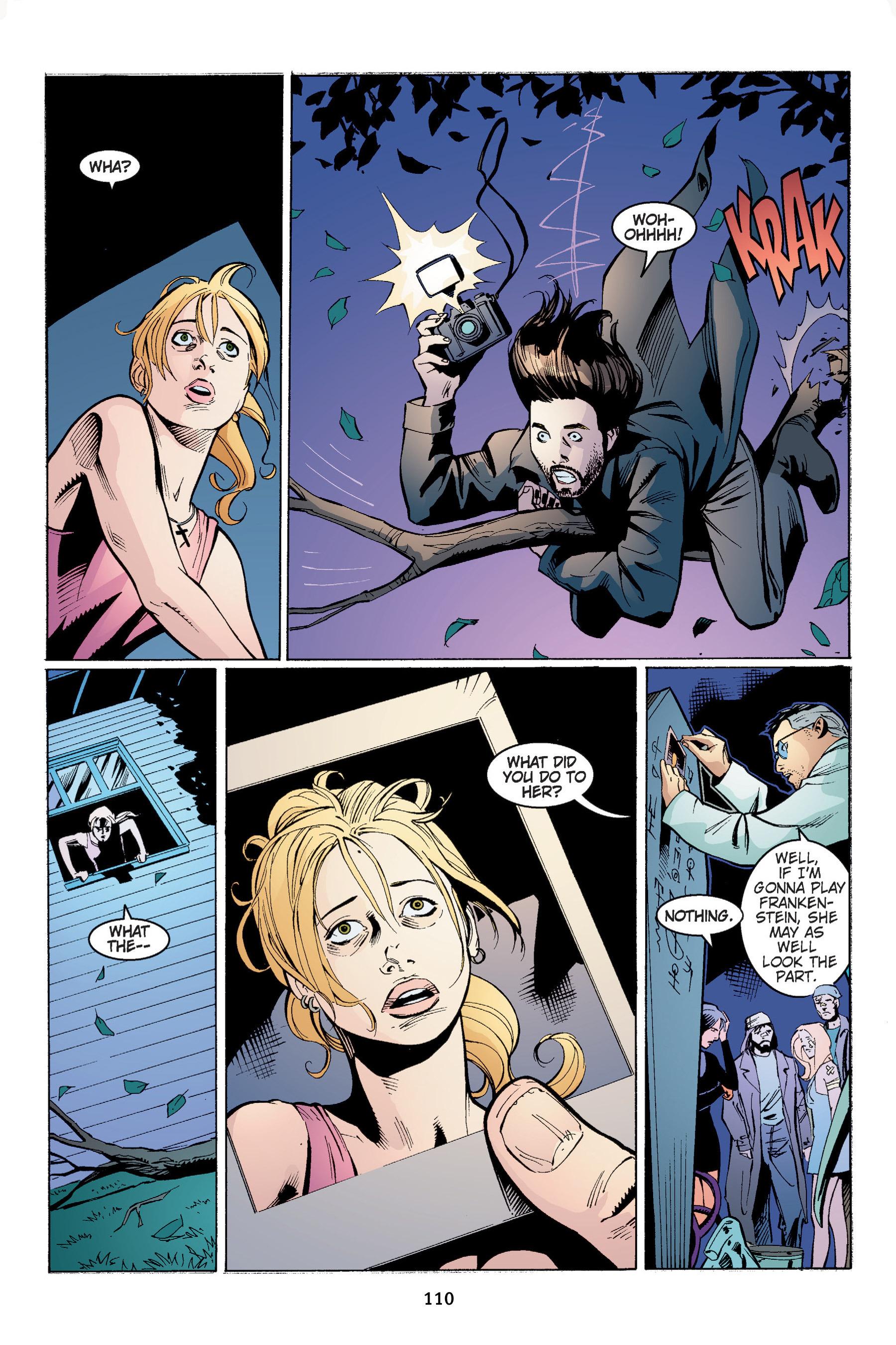Read online Buffy the Vampire Slayer: Omnibus comic -  Issue # TPB 4 - 111