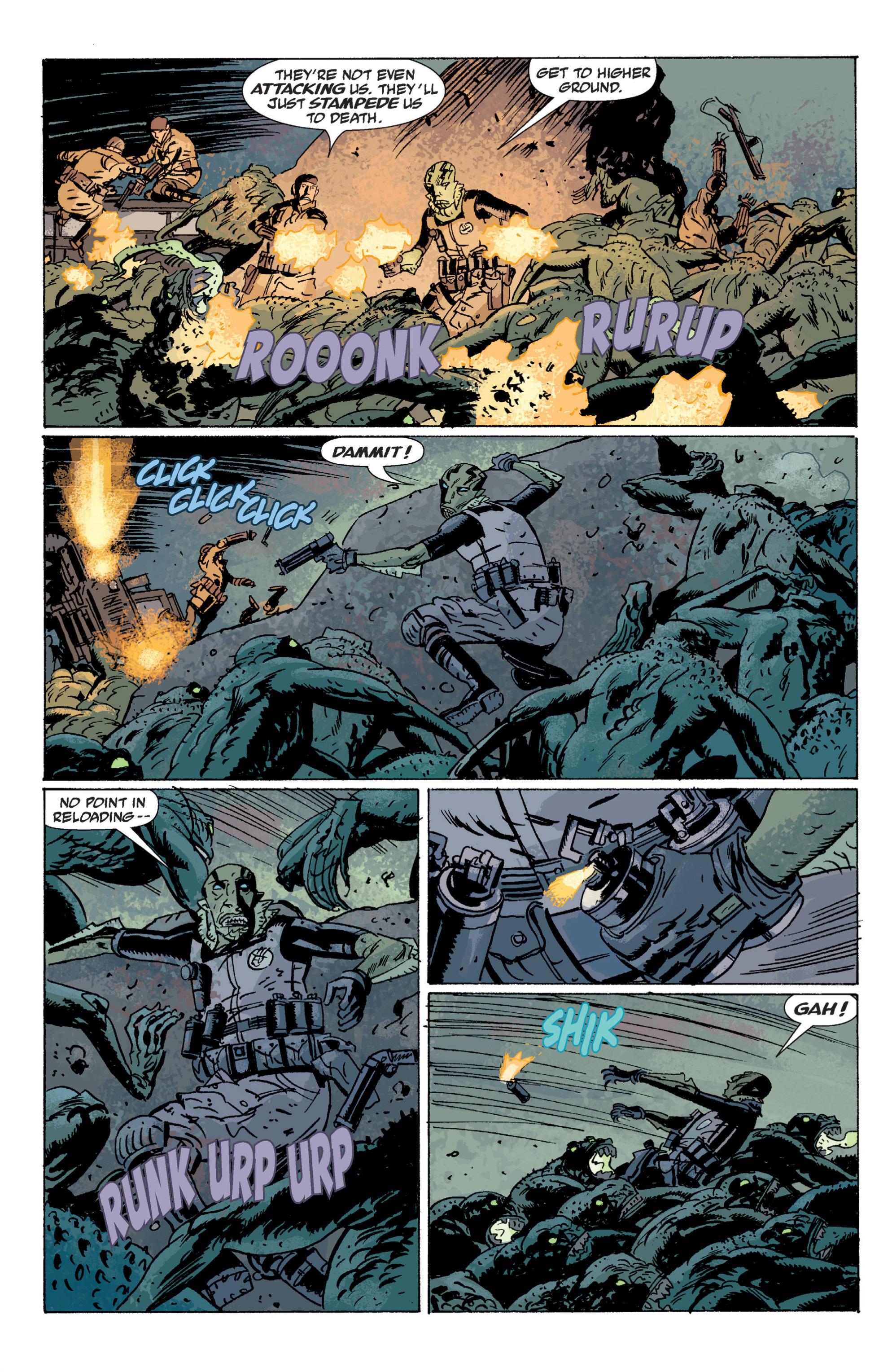 Read online B.P.R.D. (2003) comic -  Issue # TPB 5 - 107
