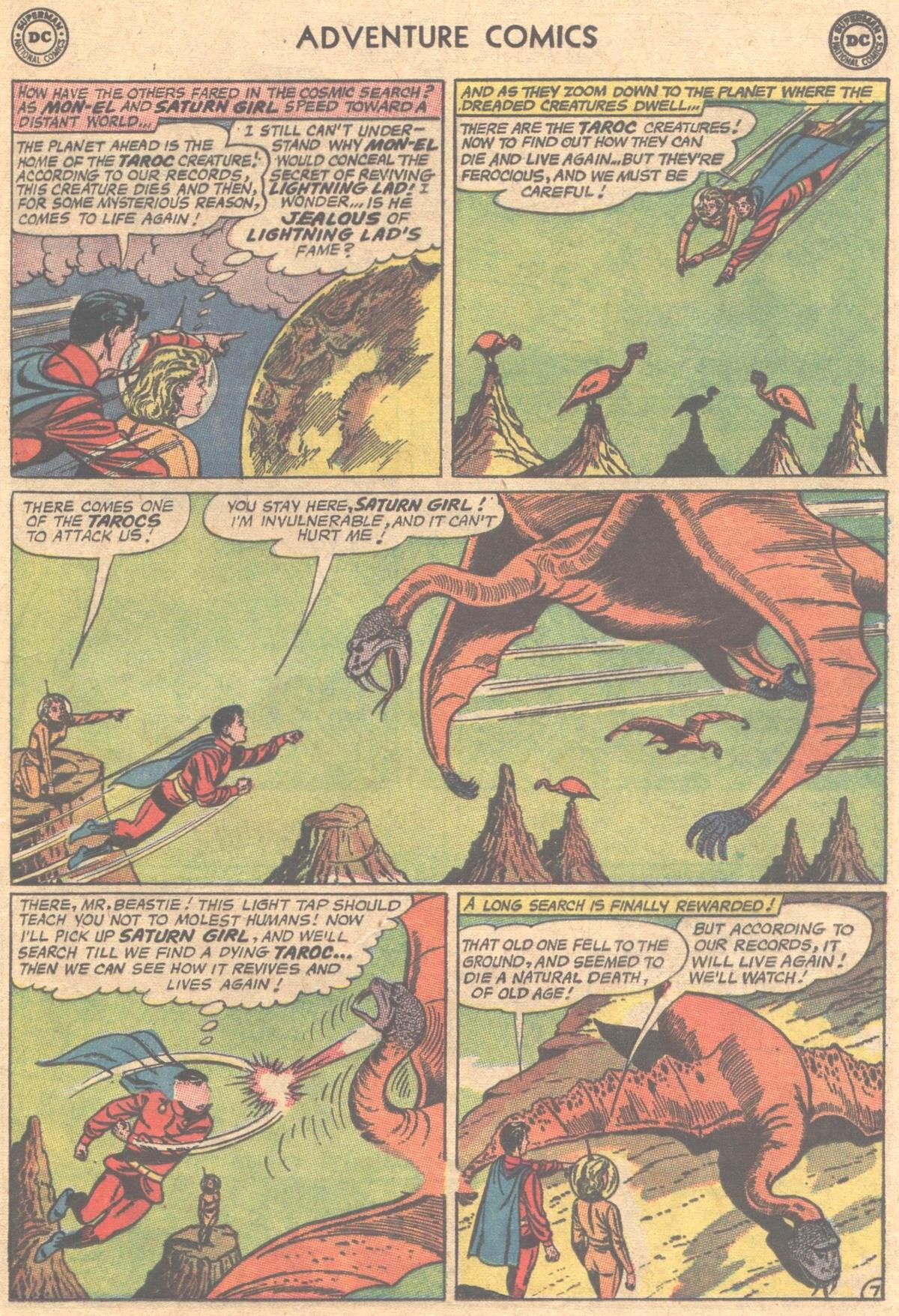 Read online Adventure Comics (1938) comic -  Issue #312 - 9