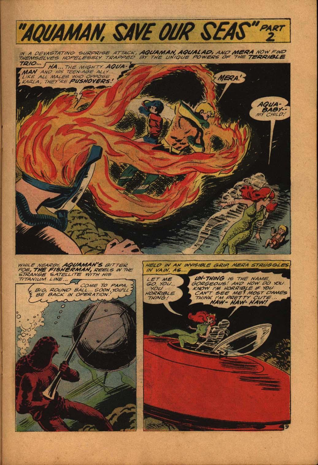 Read online Aquaman (1962) comic -  Issue #24 - 15