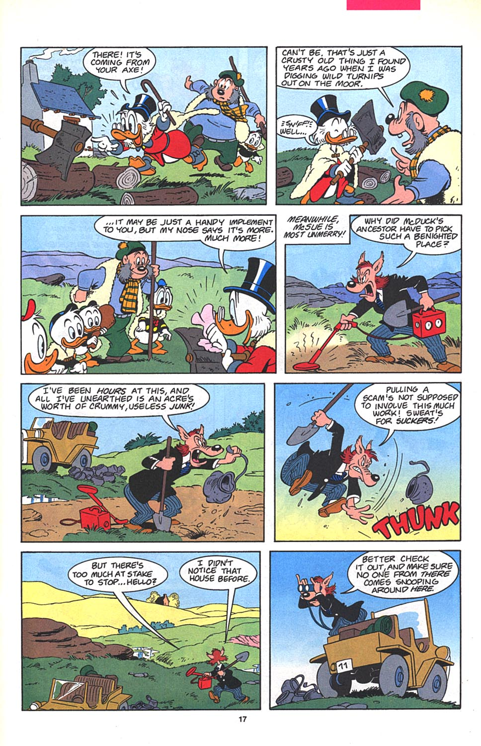 Read online Uncle Scrooge (1953) comic -  Issue #272 - 18
