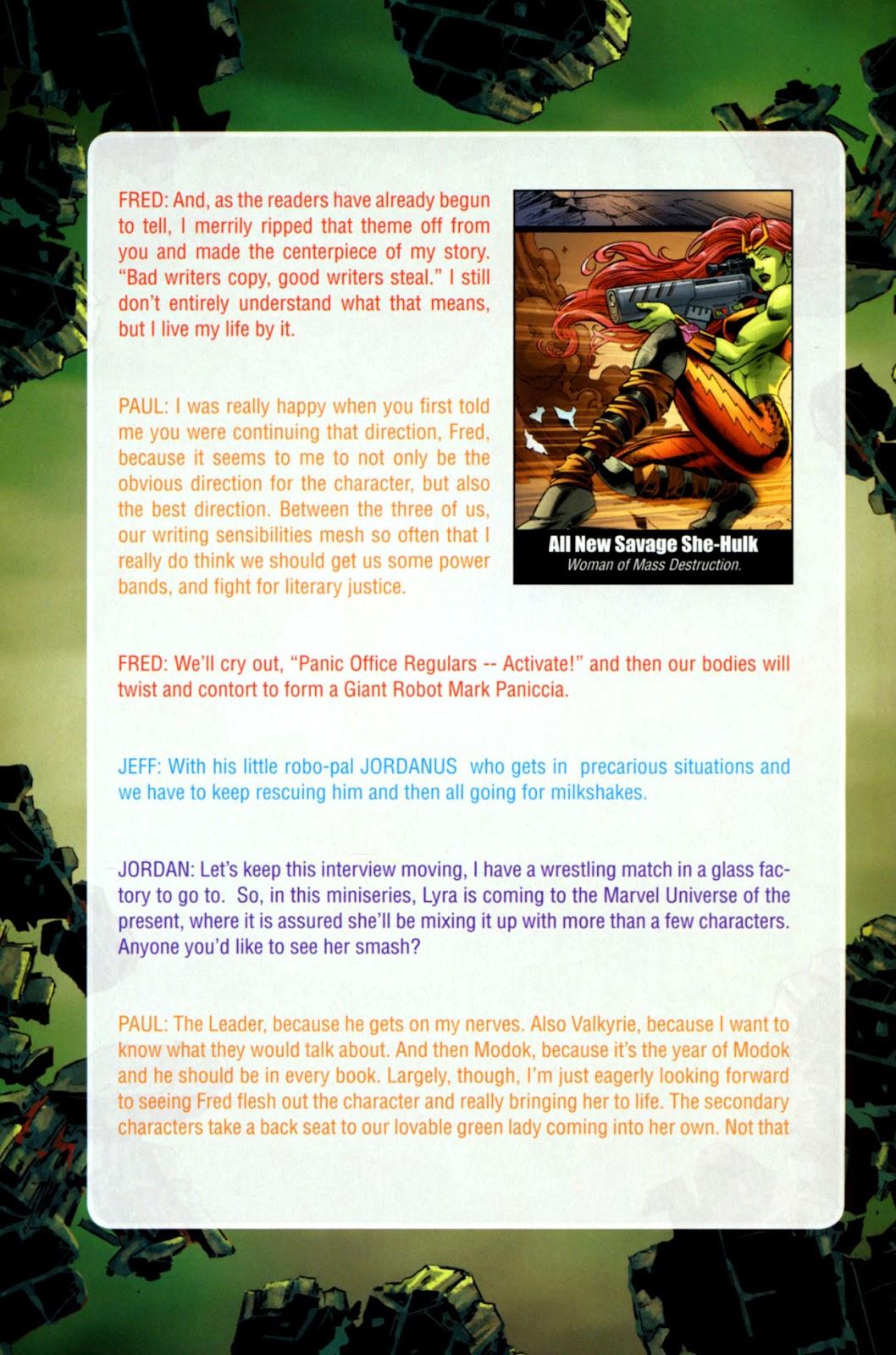 Savage She-Hulk Issue #1 #1 - English 31