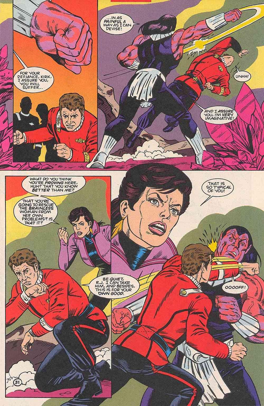 Read online Star Trek (1989) comic -  Issue # _Special 1 - 38