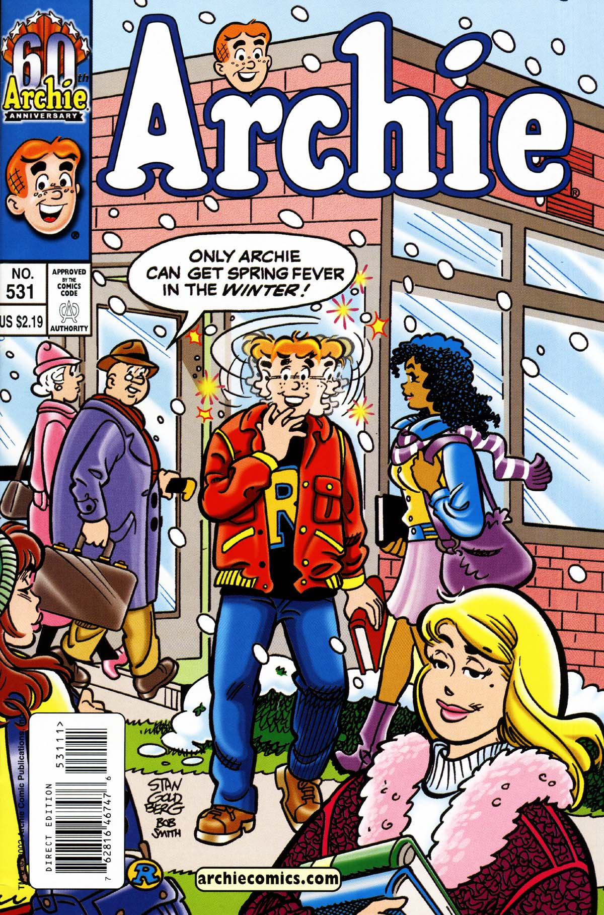 Read online Archie (1960) comic -  Issue #531 - 1