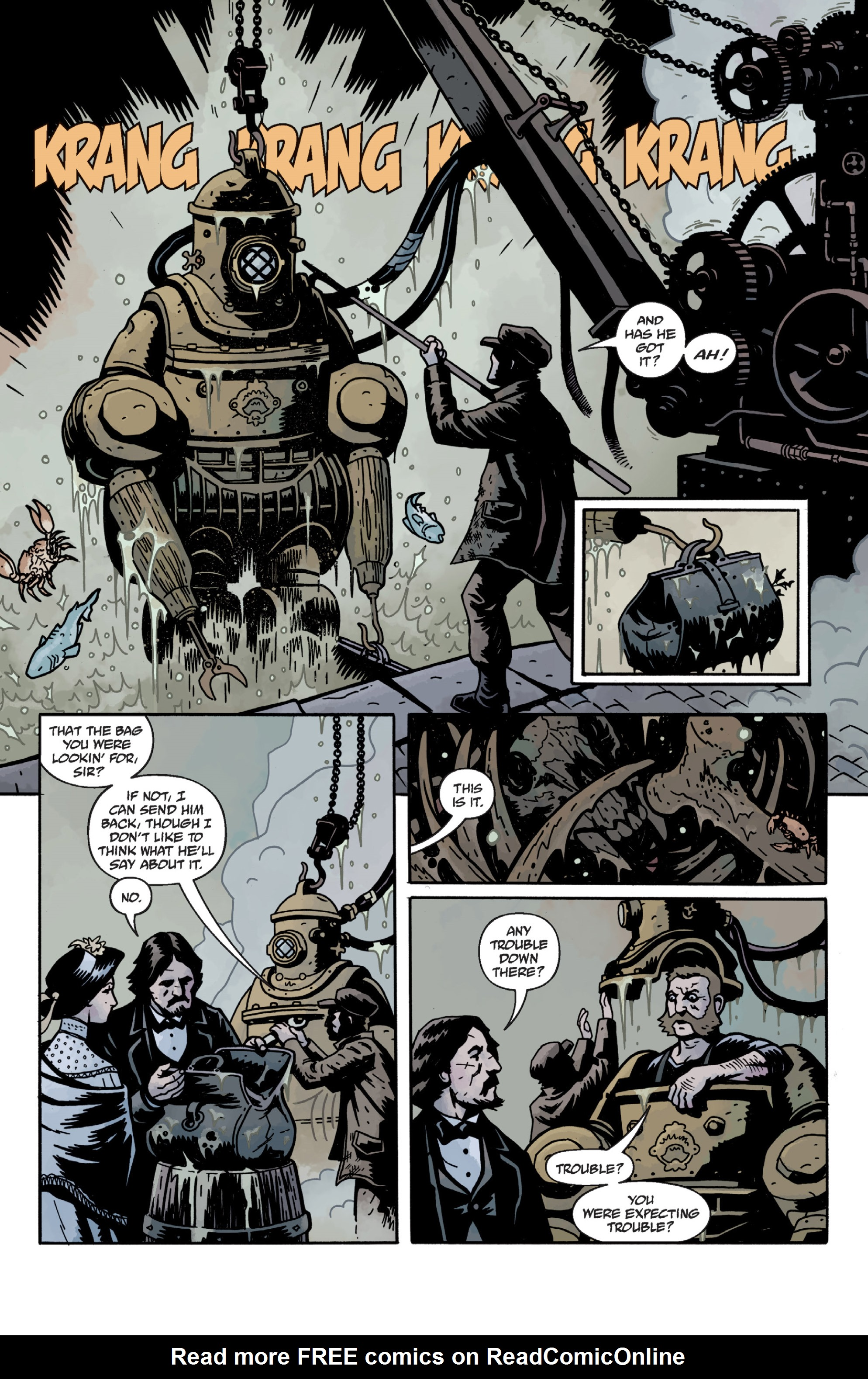 Read online Sir Edward Grey, Witchfinder: In the Service of Angels comic -  Issue # TPB - 65