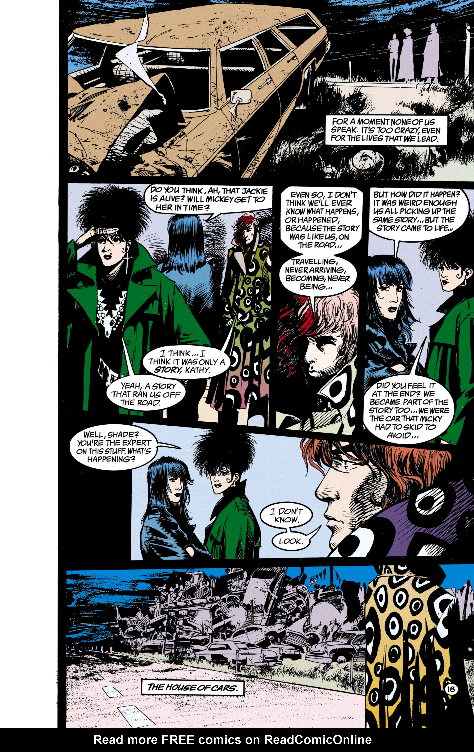 Read online Shade, the Changing Man comic -  Issue #23 - 19