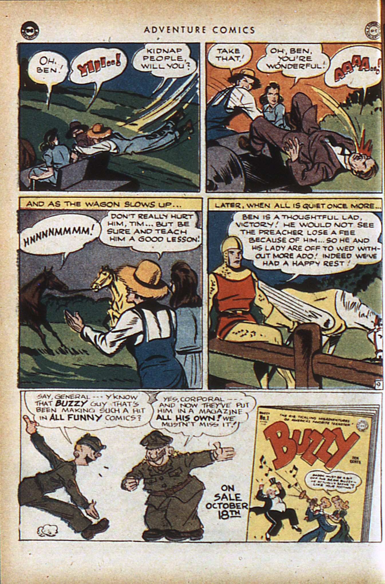 Read online Adventure Comics (1938) comic -  Issue #95 - 23