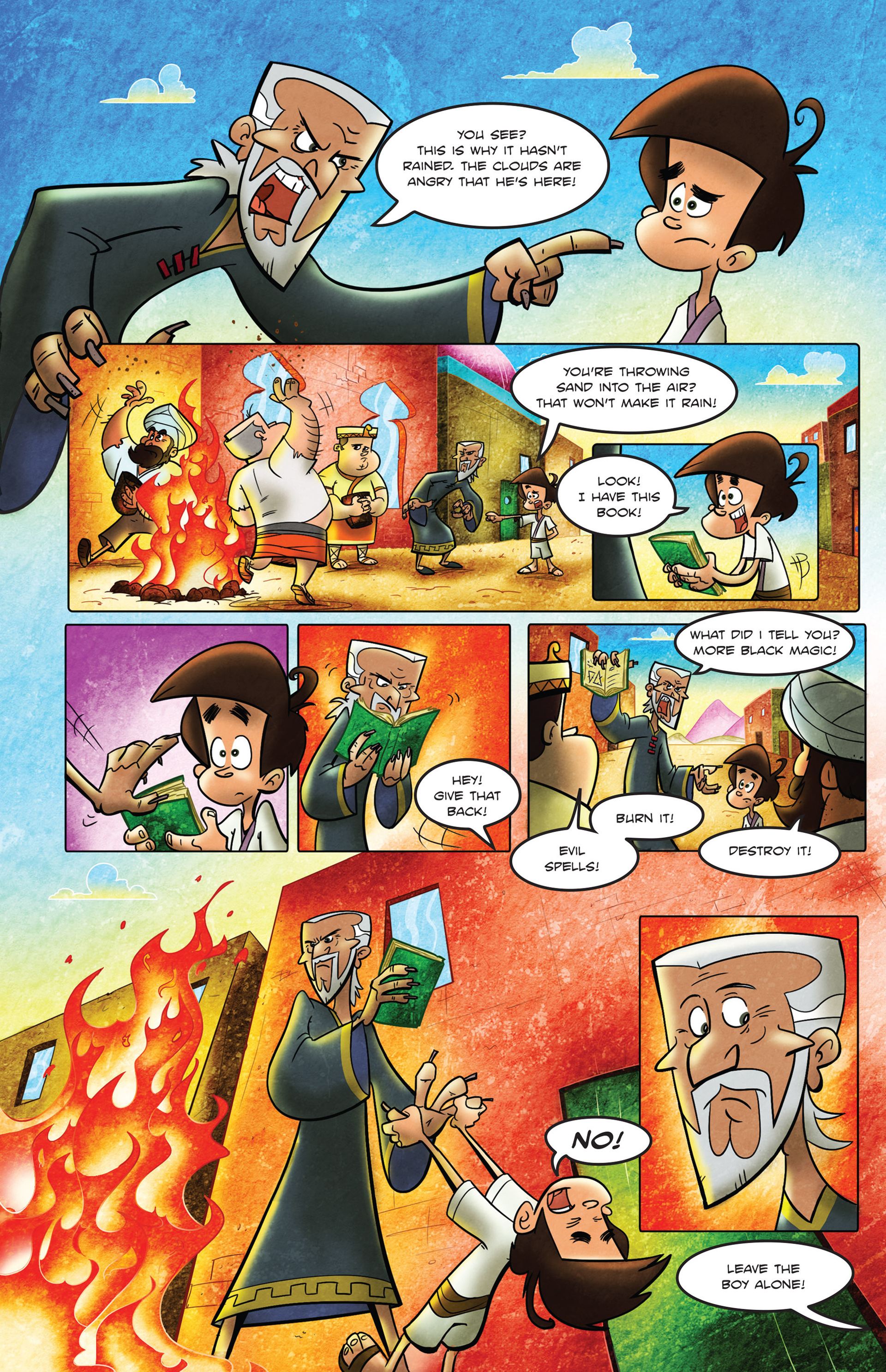 Read online 1001 Nights comic -  Issue #2 - 19