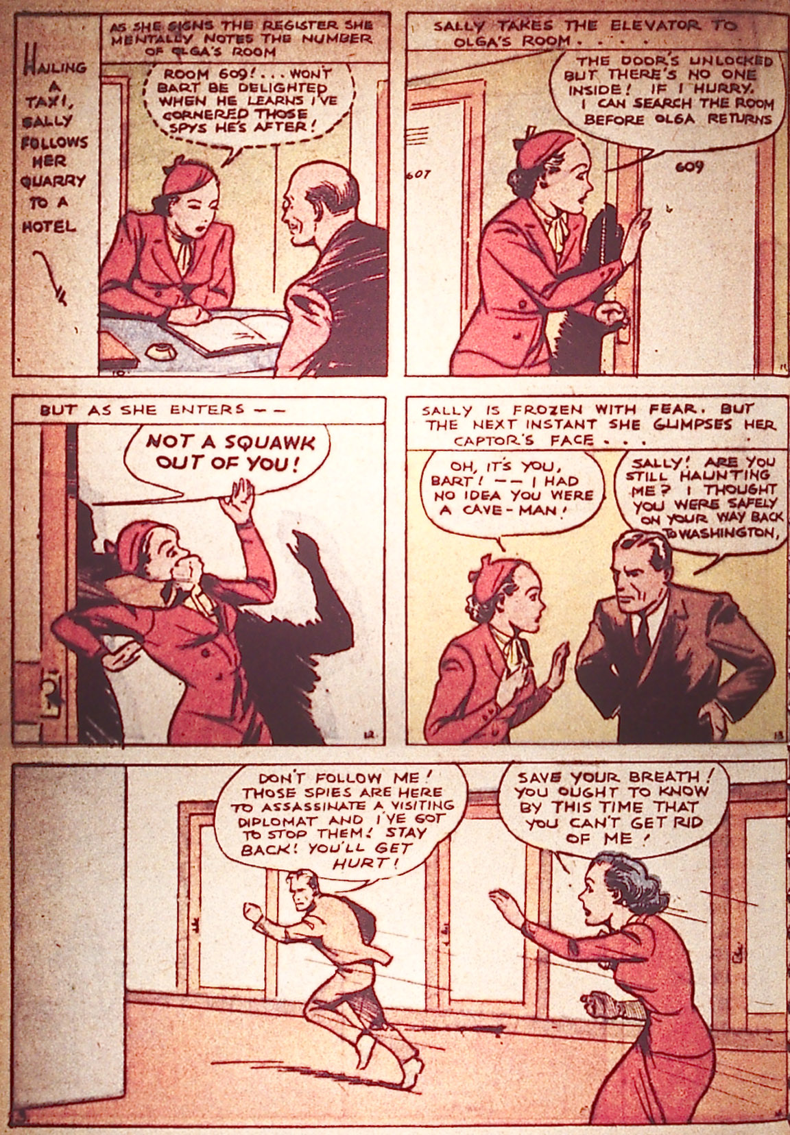 Read online Detective Comics (1937) comic -  Issue #5 - 46