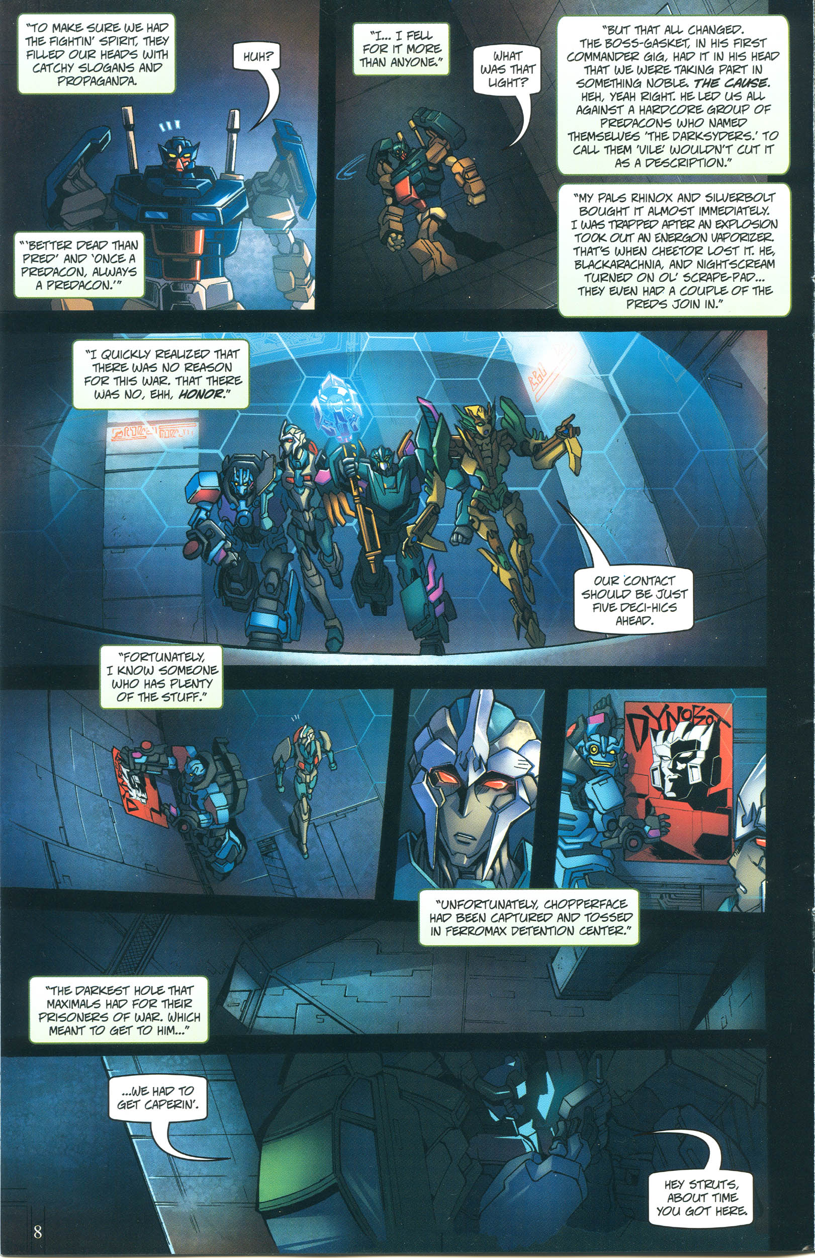 Read online Transformers: Collectors' Club comic -  Issue #55 - 8
