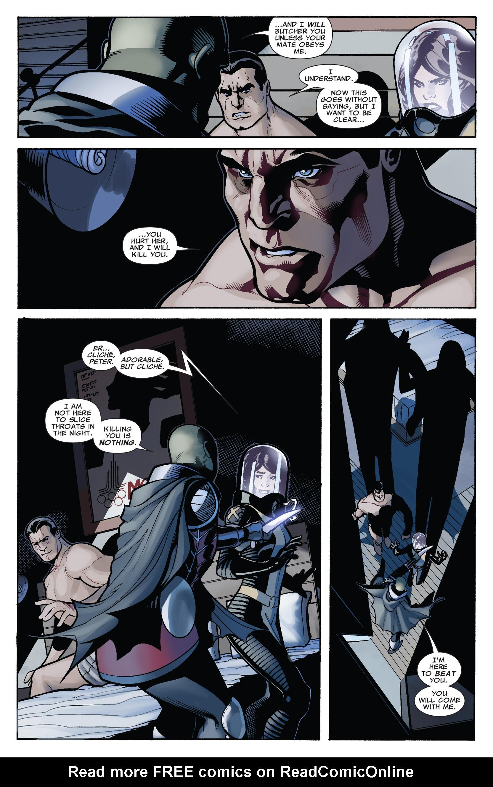 Read online Uncanny X-Men (1963) comic -  Issue #537 - 6