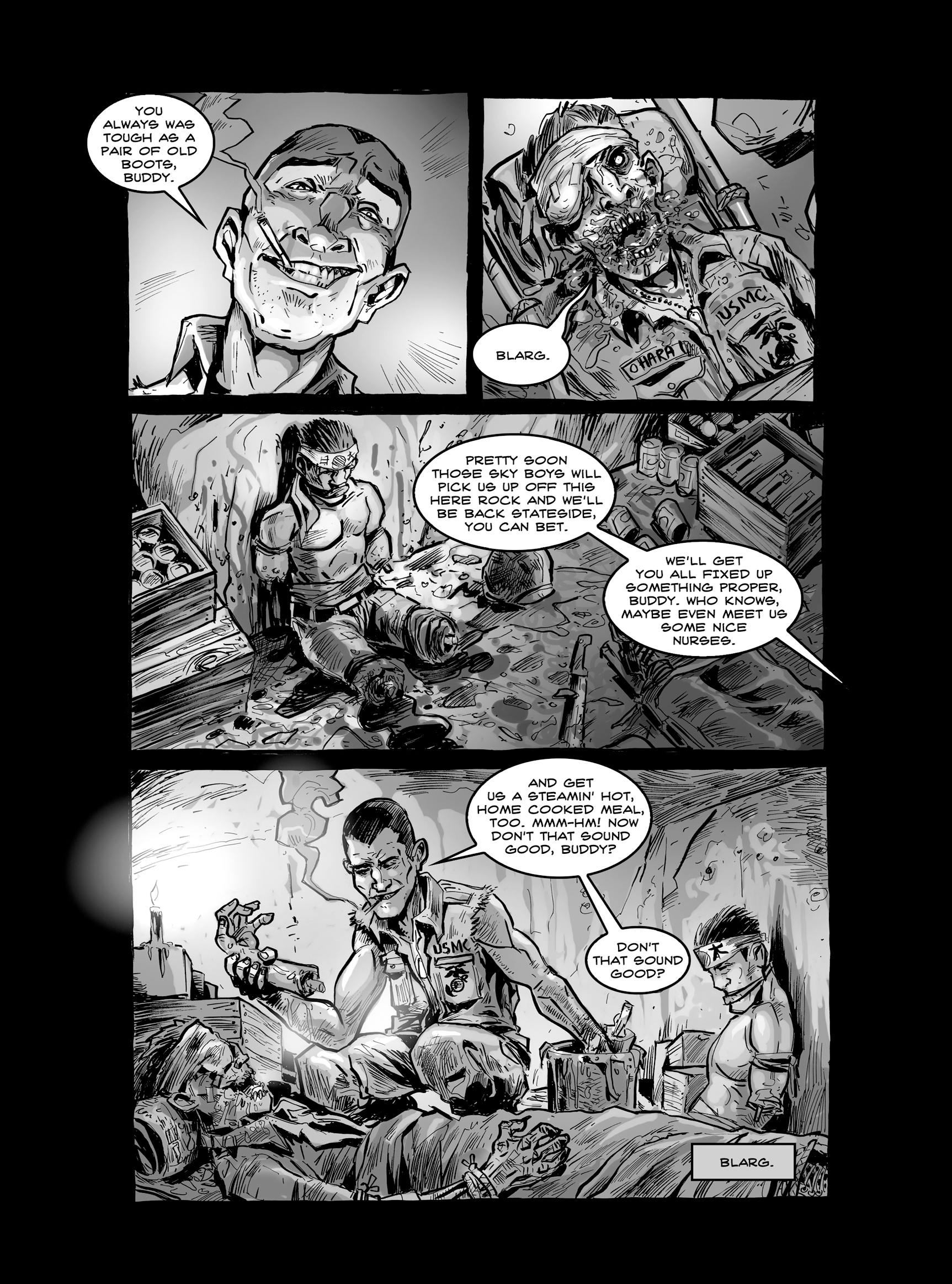 Read online FUBAR comic -  Issue #2 - 27