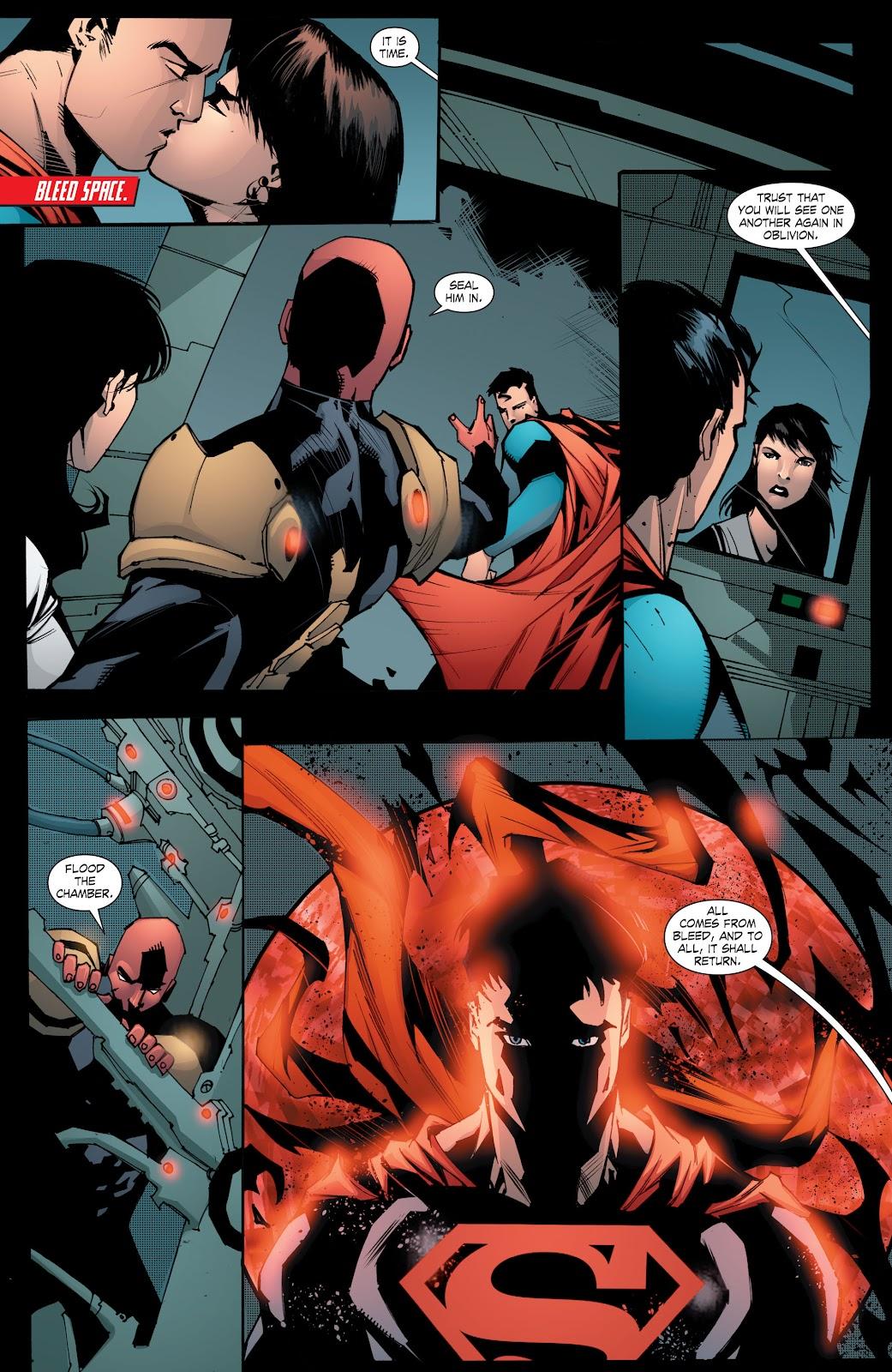 Read online Smallville Season 11 [II] comic -  Issue # TPB 8 - 160