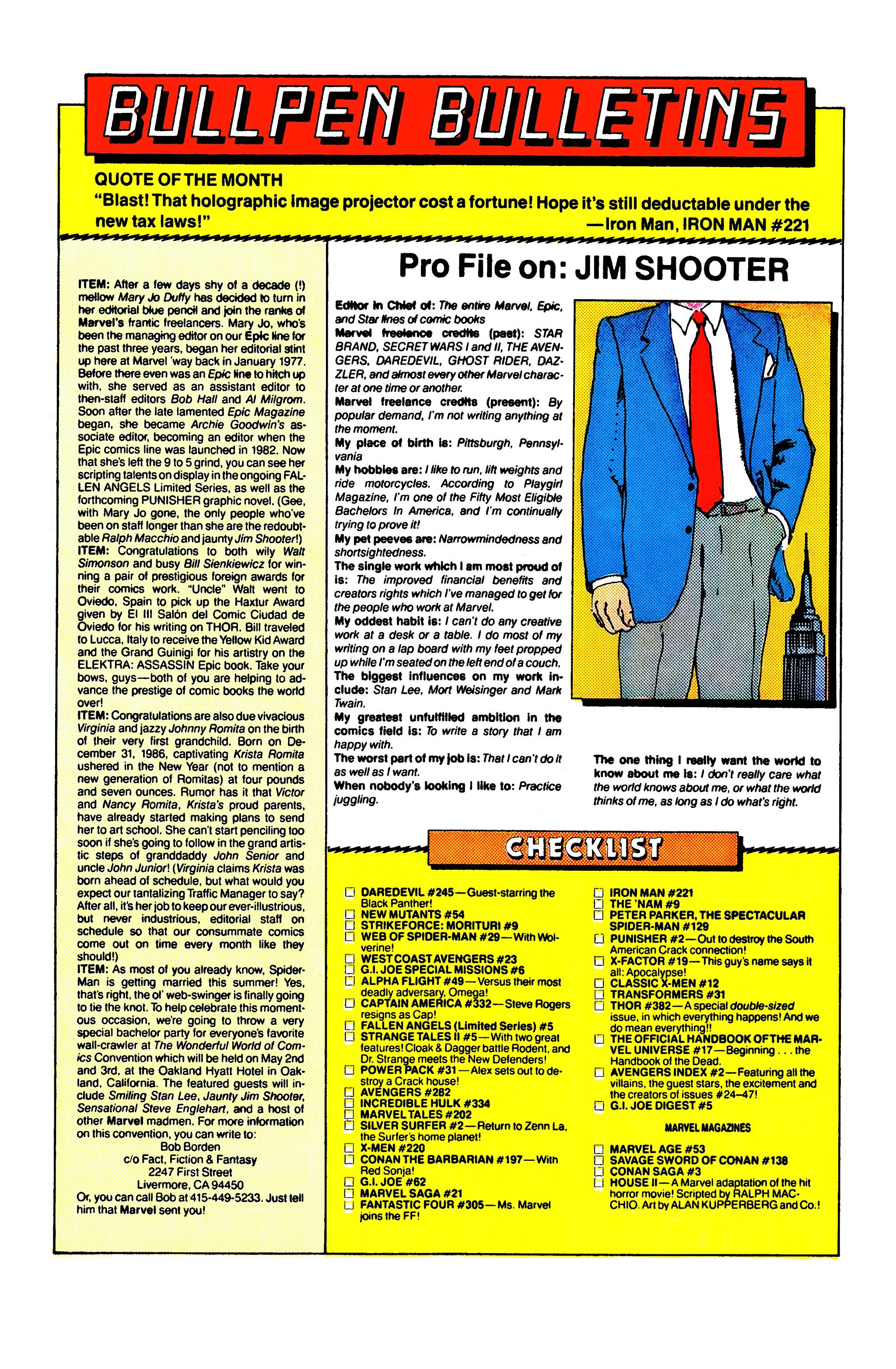 Read online Uncanny X-Men (1963) comic -  Issue #220 - 22