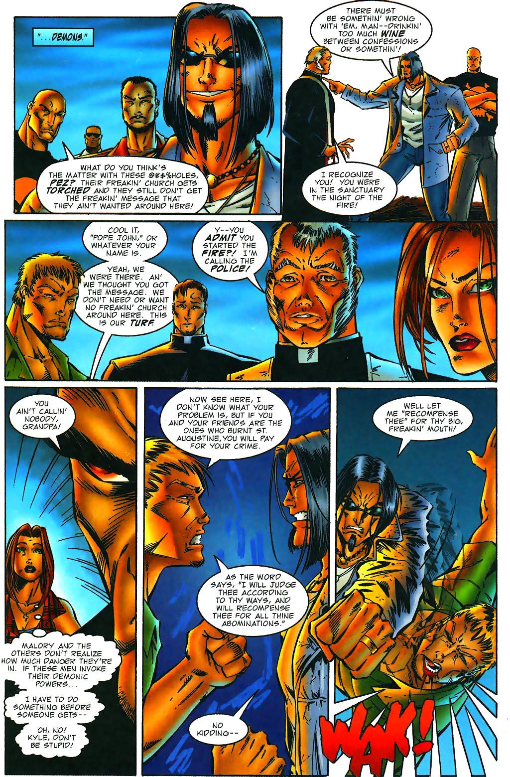 Read online Avengelyne (1996) comic -  Issue #1 - 9