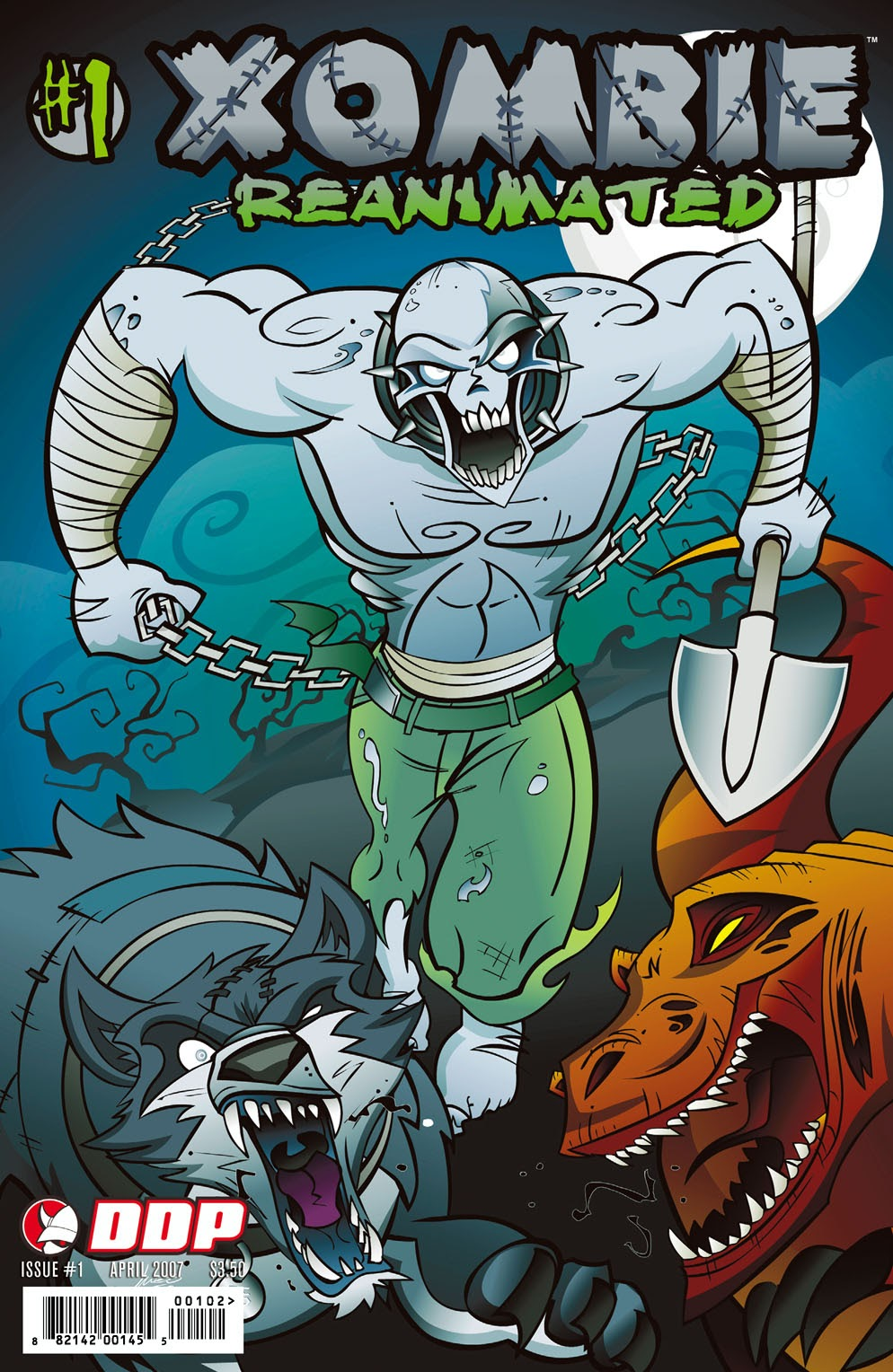 Read online Xombie Reanimated comic -  Issue #1 - 2