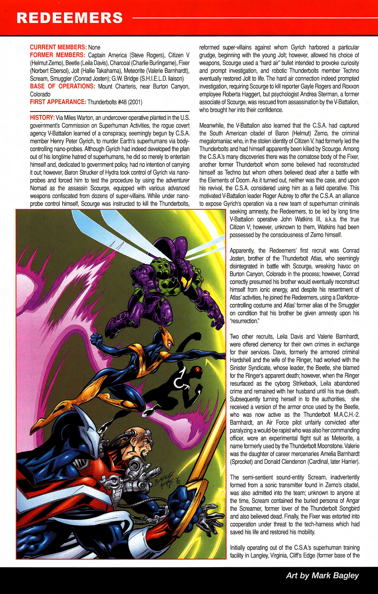 Read online All-New Official Handbook of the Marvel Universe A to Z comic -  Issue #9 - 22