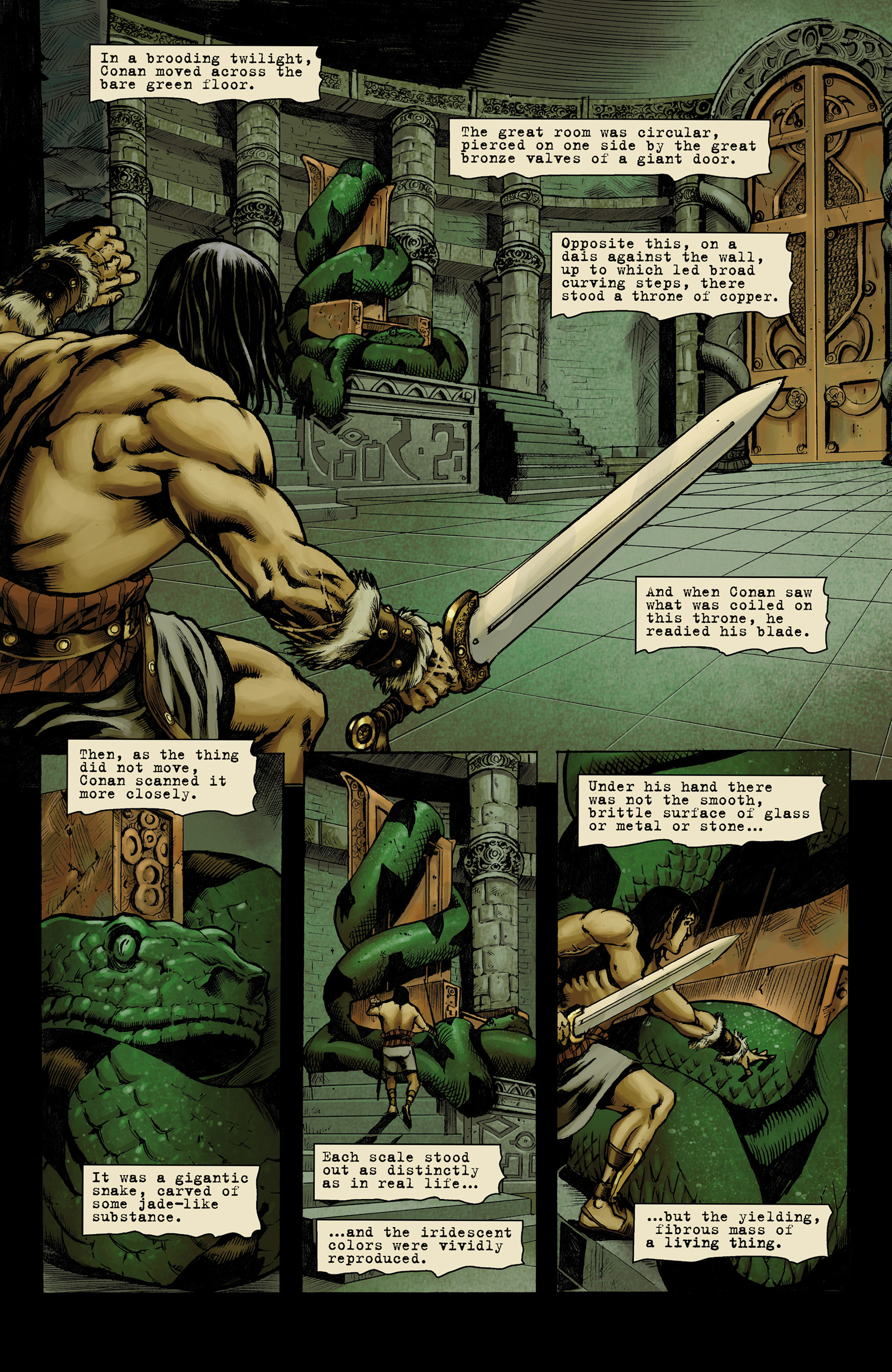 Read online Conan The Slayer comic -  Issue #9 - 13