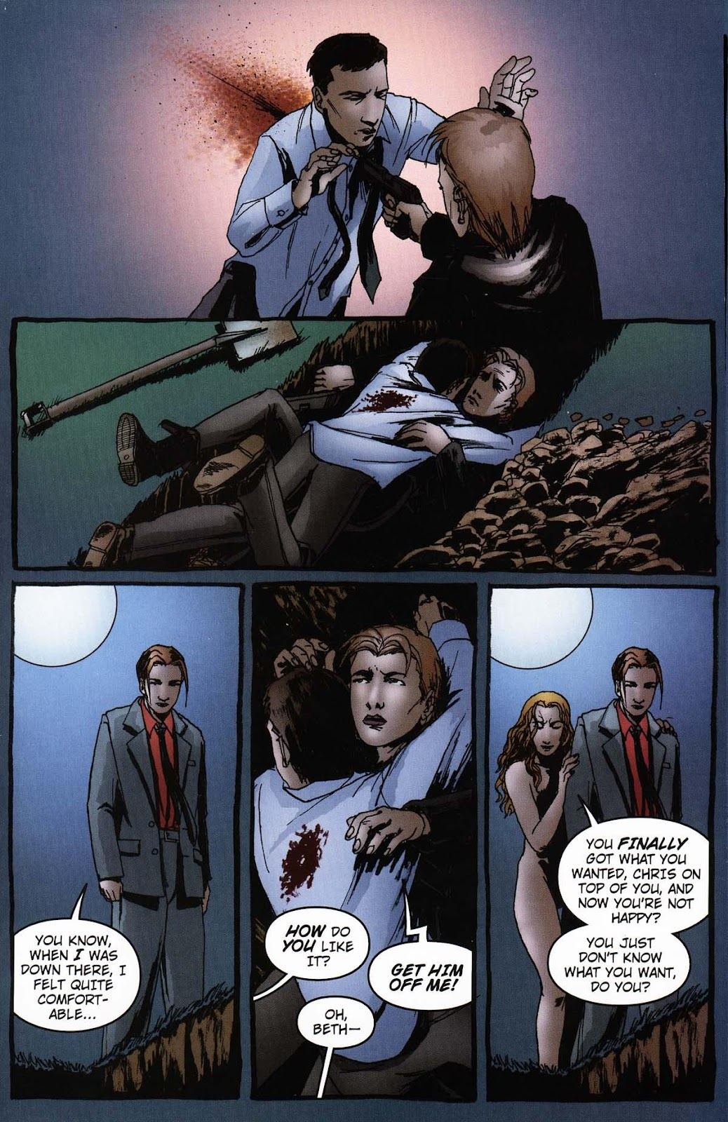 Read online Vampire the Masquerade comic -  Issue # Ventrue - 47