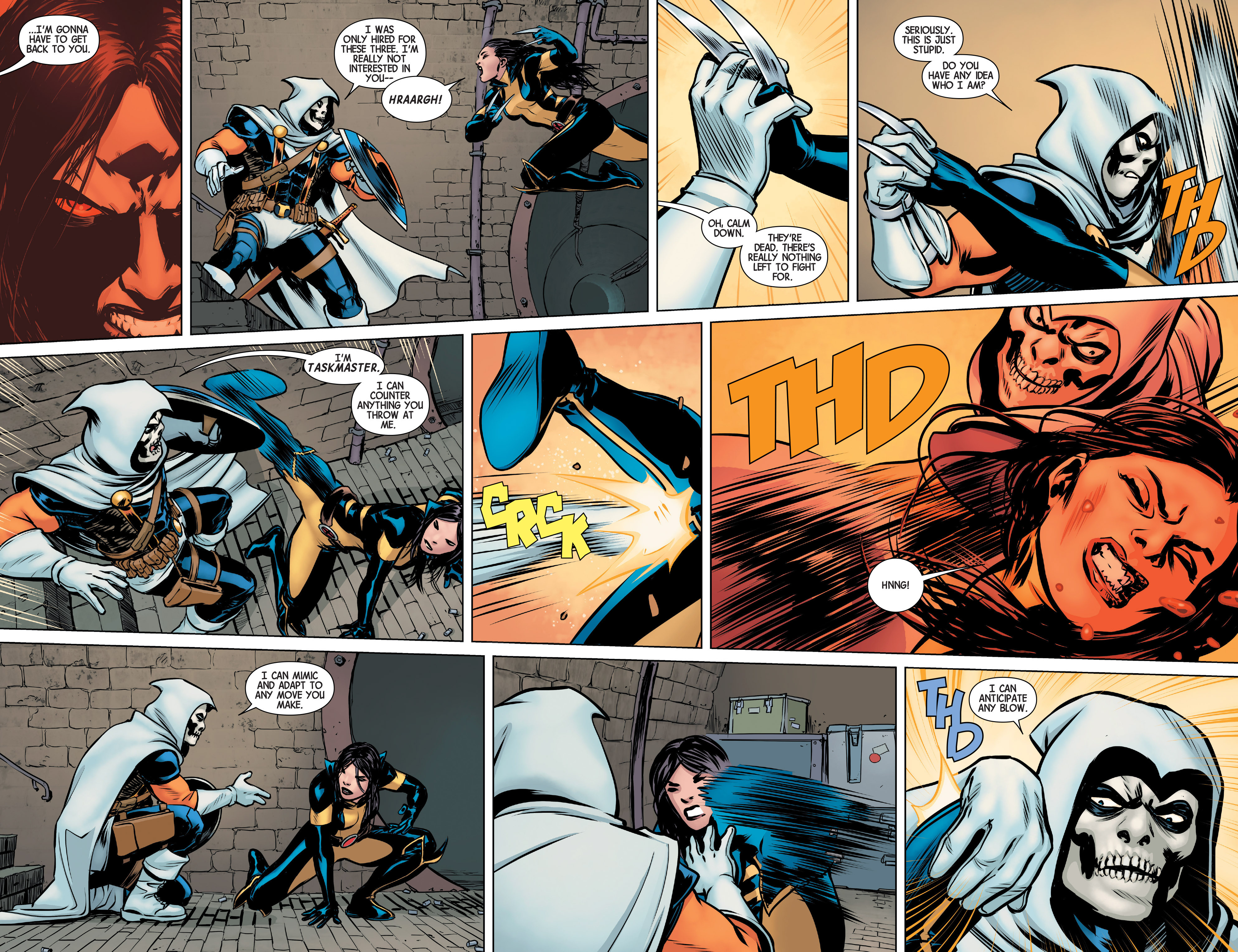 Read online All-New Wolverine (2016) comic -  Issue #3 - 4