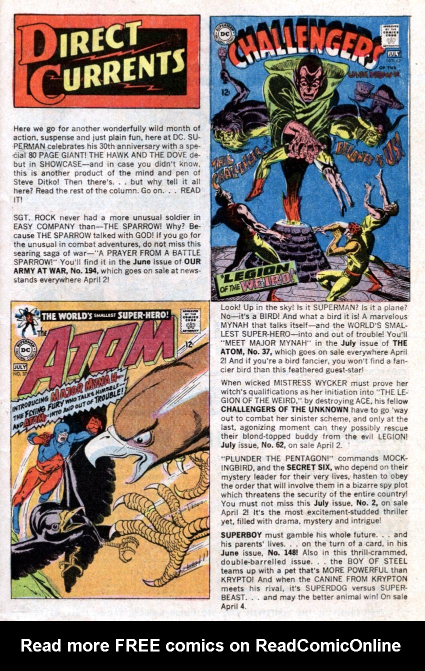 Read online Action Comics (1938) comic -  Issue #363 - 33