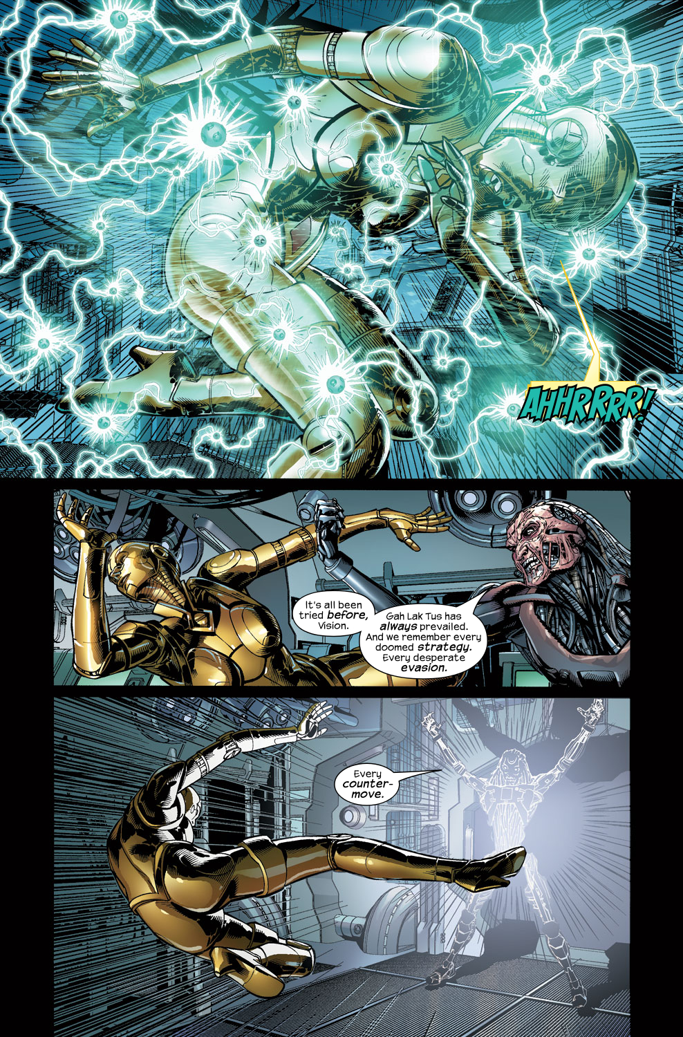 Read online Ultimate Vision comic -  Issue #3 - 17