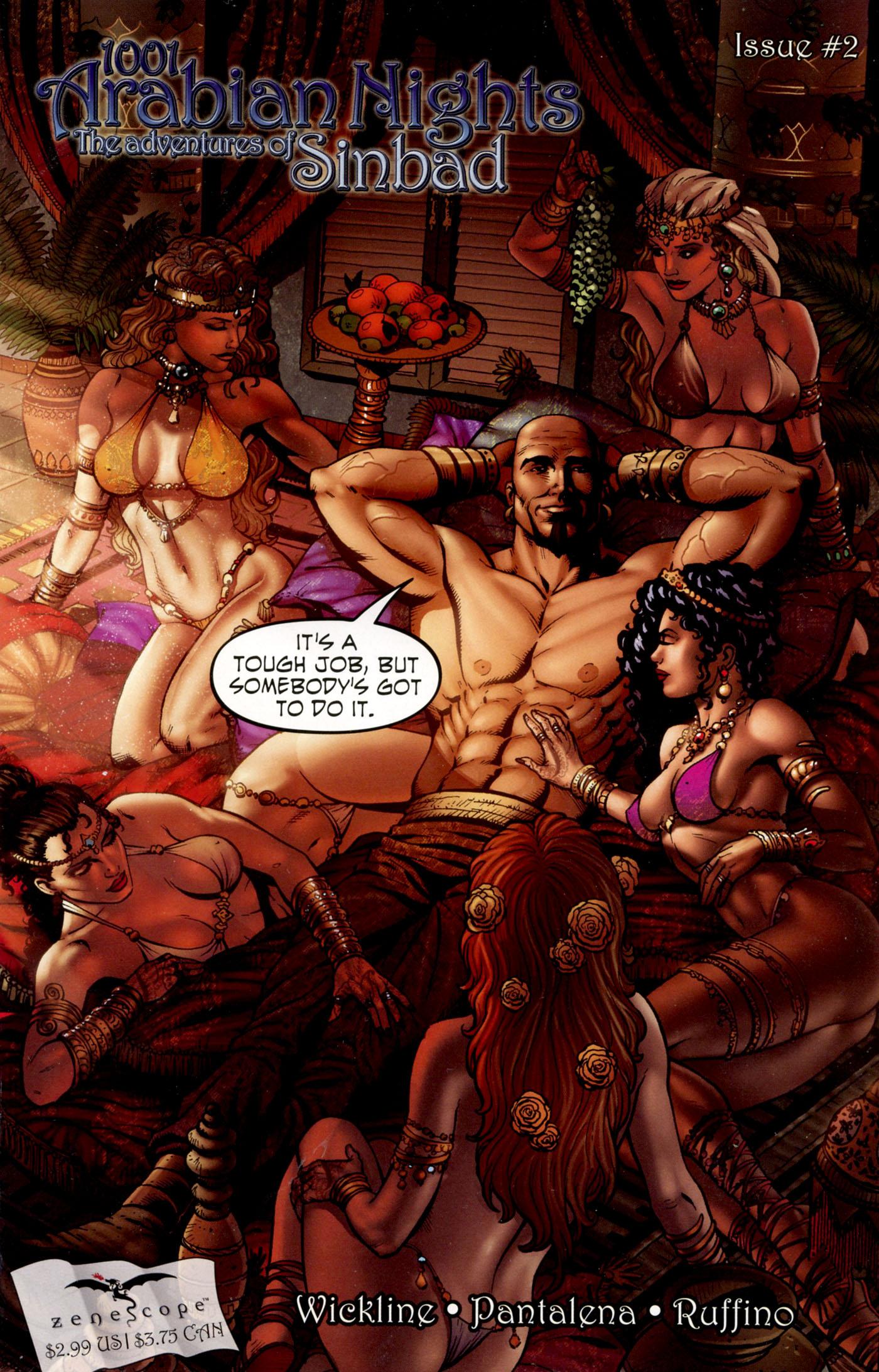 Read online 1001 Arabian Nights: The Adventures of Sinbad comic -  Issue #2 - 3