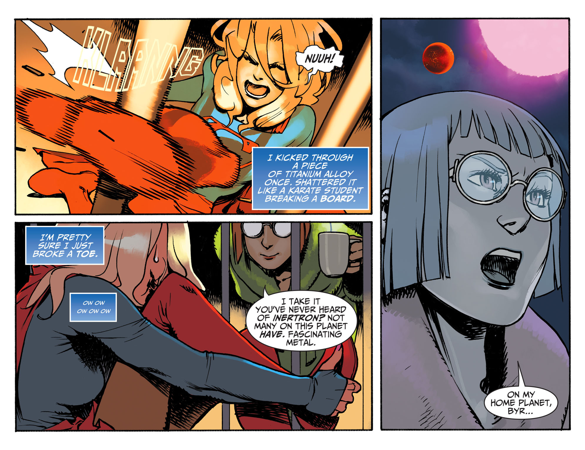 Read online Adventures of Supergirl comic -  Issue #3 - 6