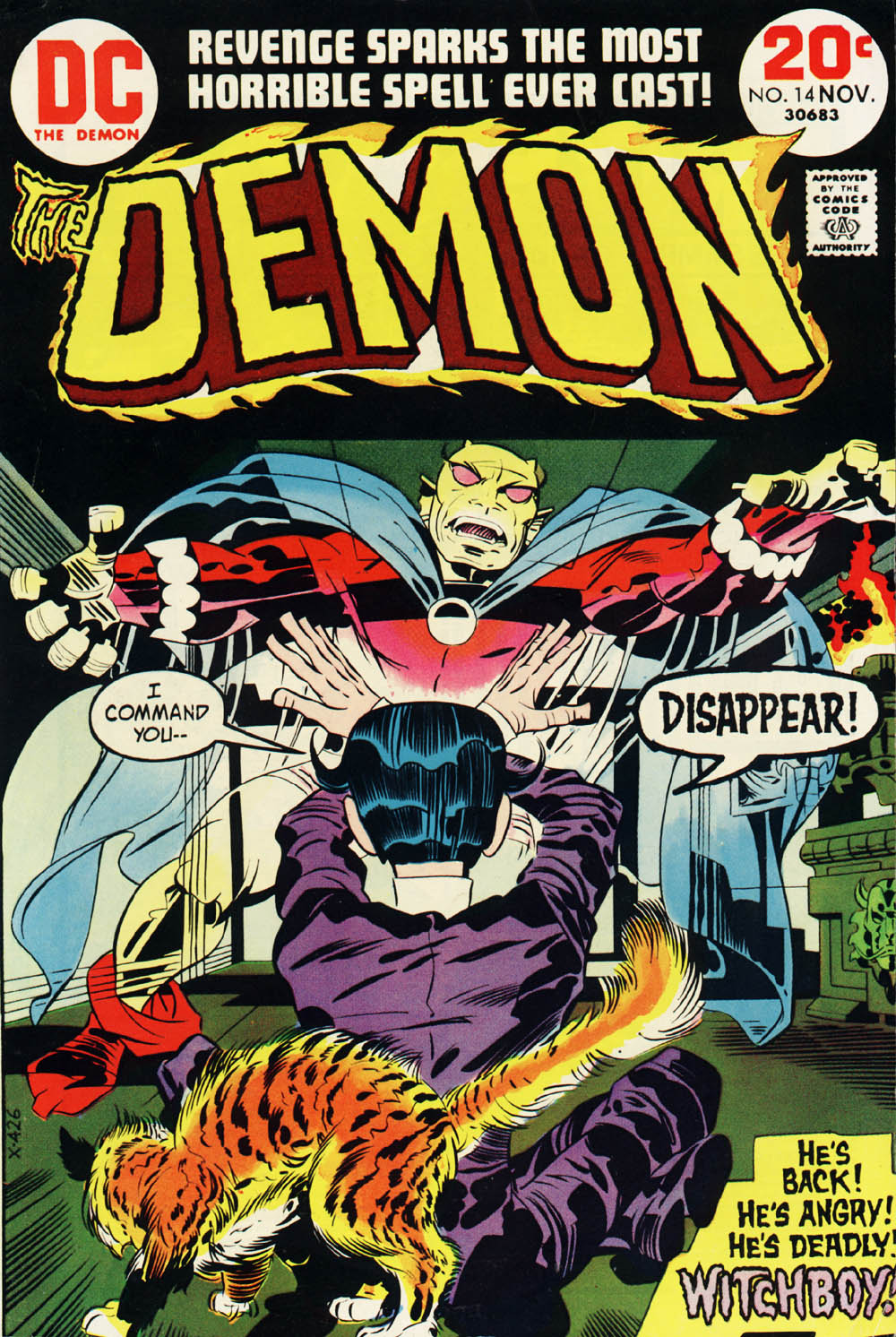 The Demon (1972) 14 Page 1