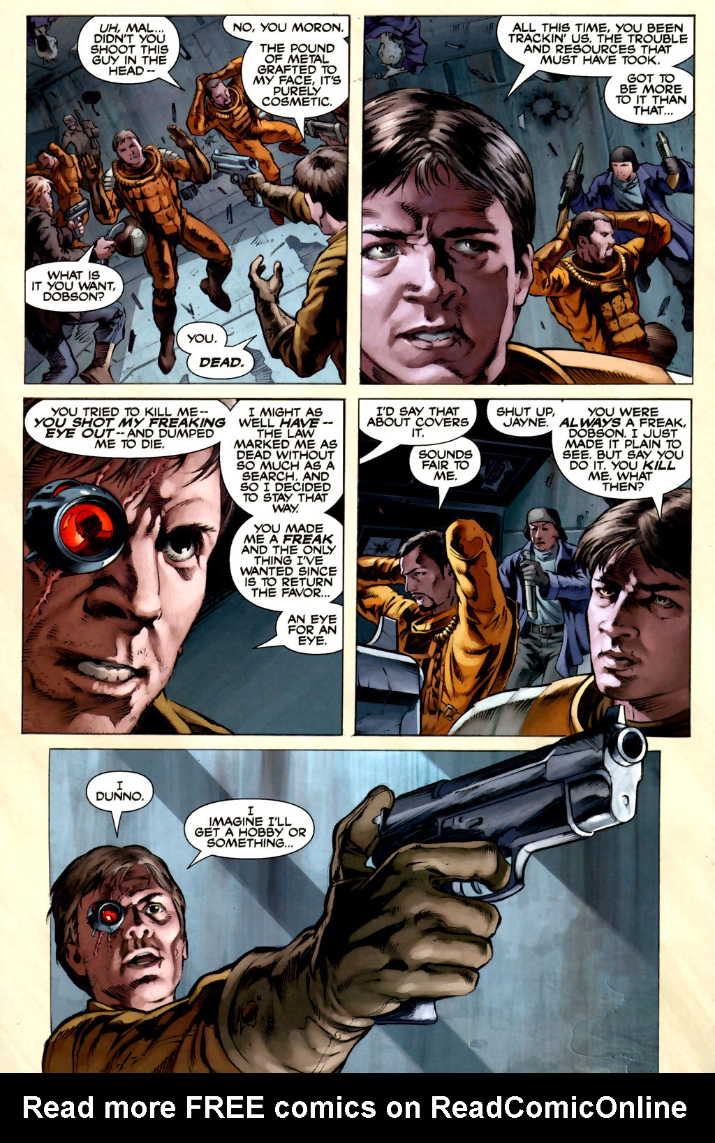 Read online Serenity comic -  Issue #3 - 14