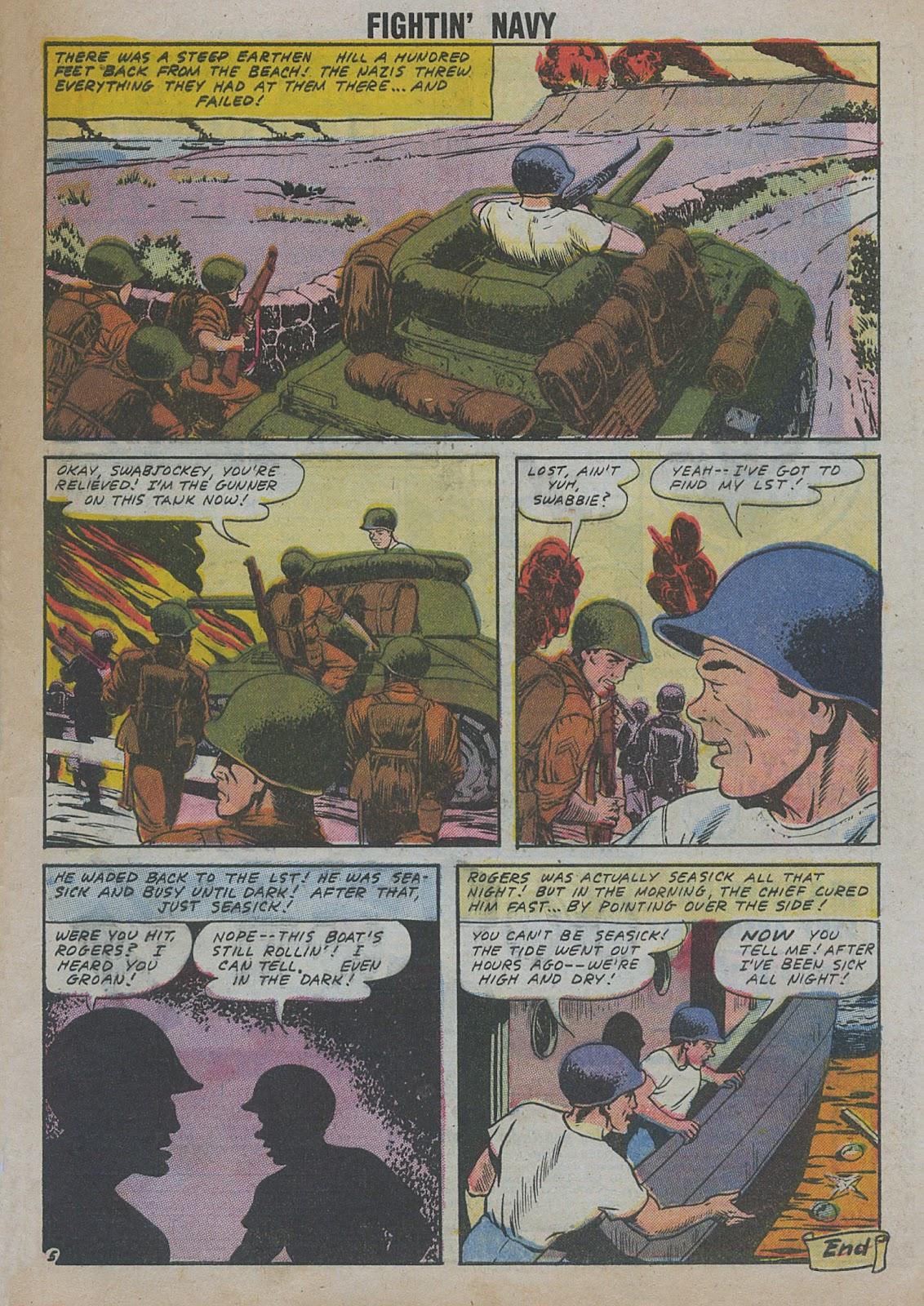 Read online Fightin' Navy comic -  Issue #82 - 15