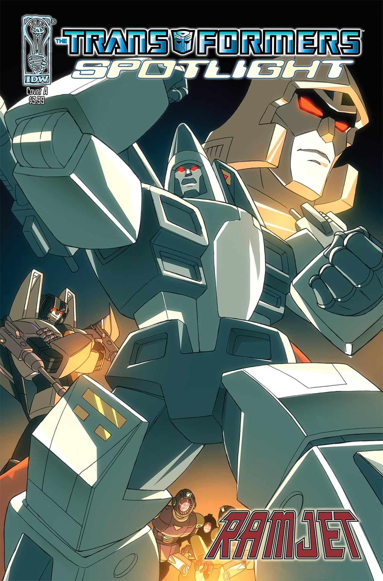 Read online Transformers Spotlight: Ramjet comic -  Issue # Full - 1
