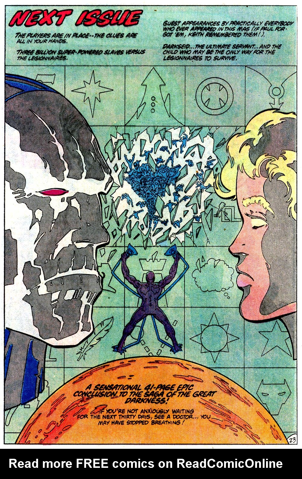 Legion of Super-Heroes (1980) 293 Page 23