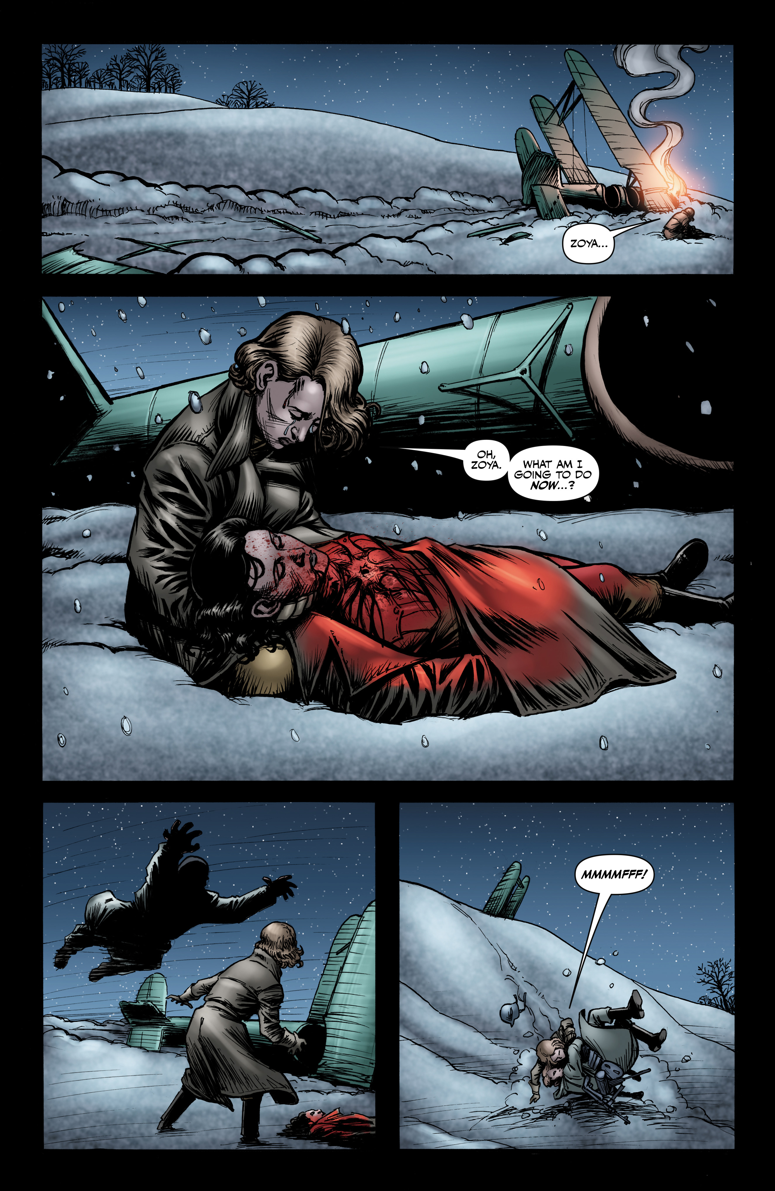 Read online Battlefields: Night Witches comic -  Issue # TPB - 65