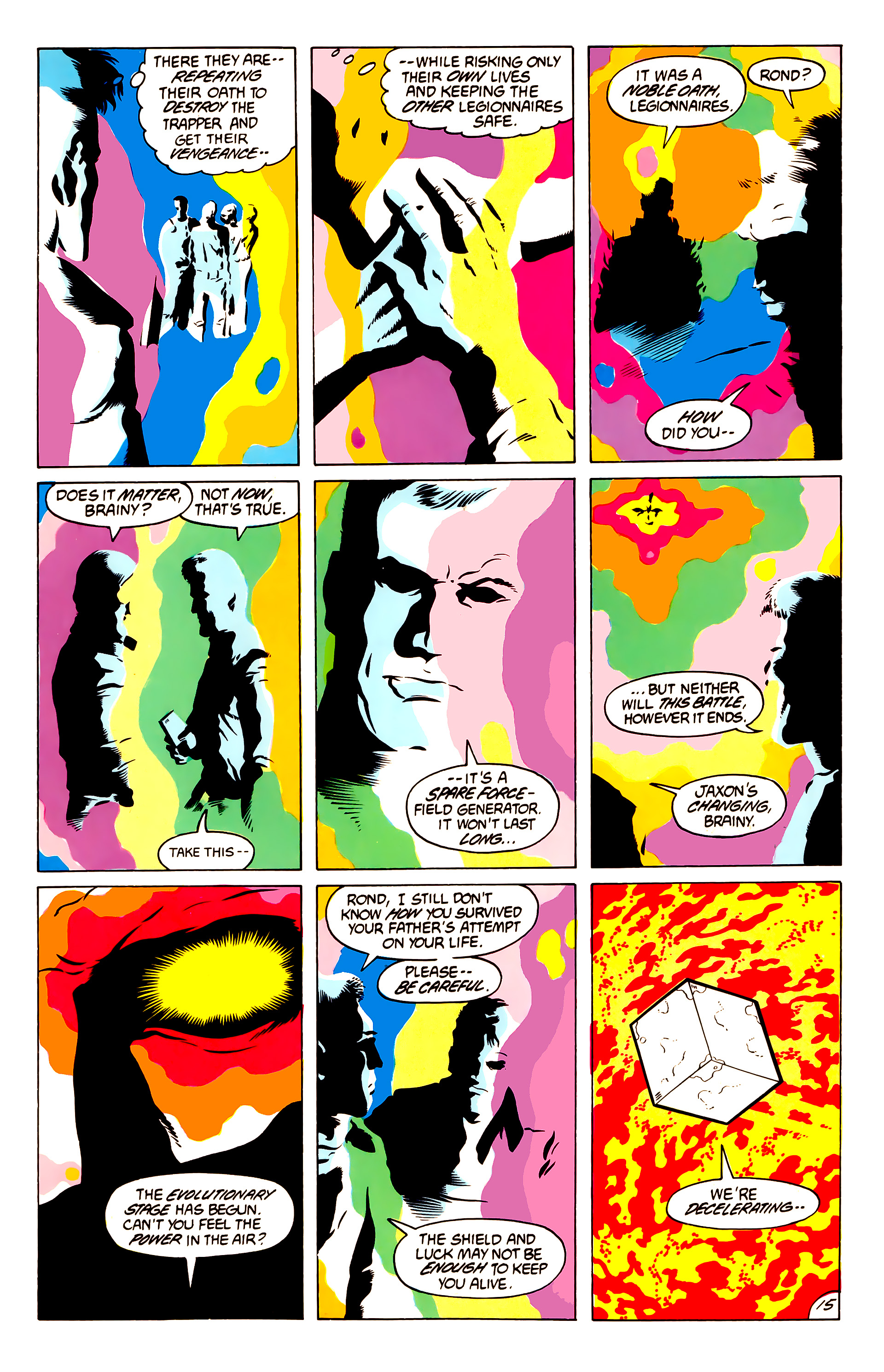 Legion of Super-Heroes (1984) 50 Page 15