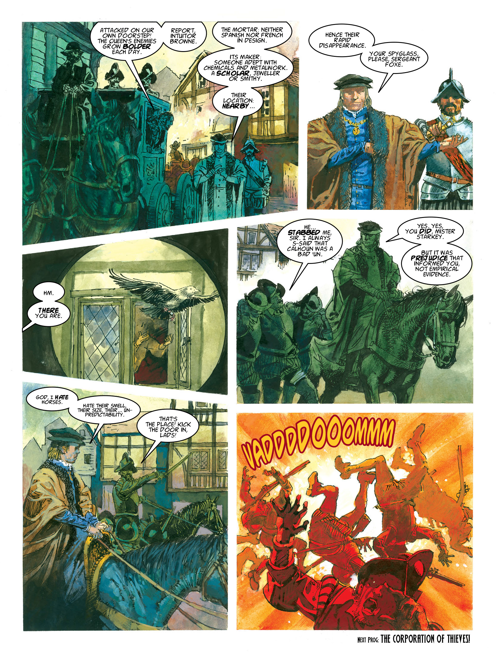 Read online 2000 AD comic -  Issue #1964 - 18