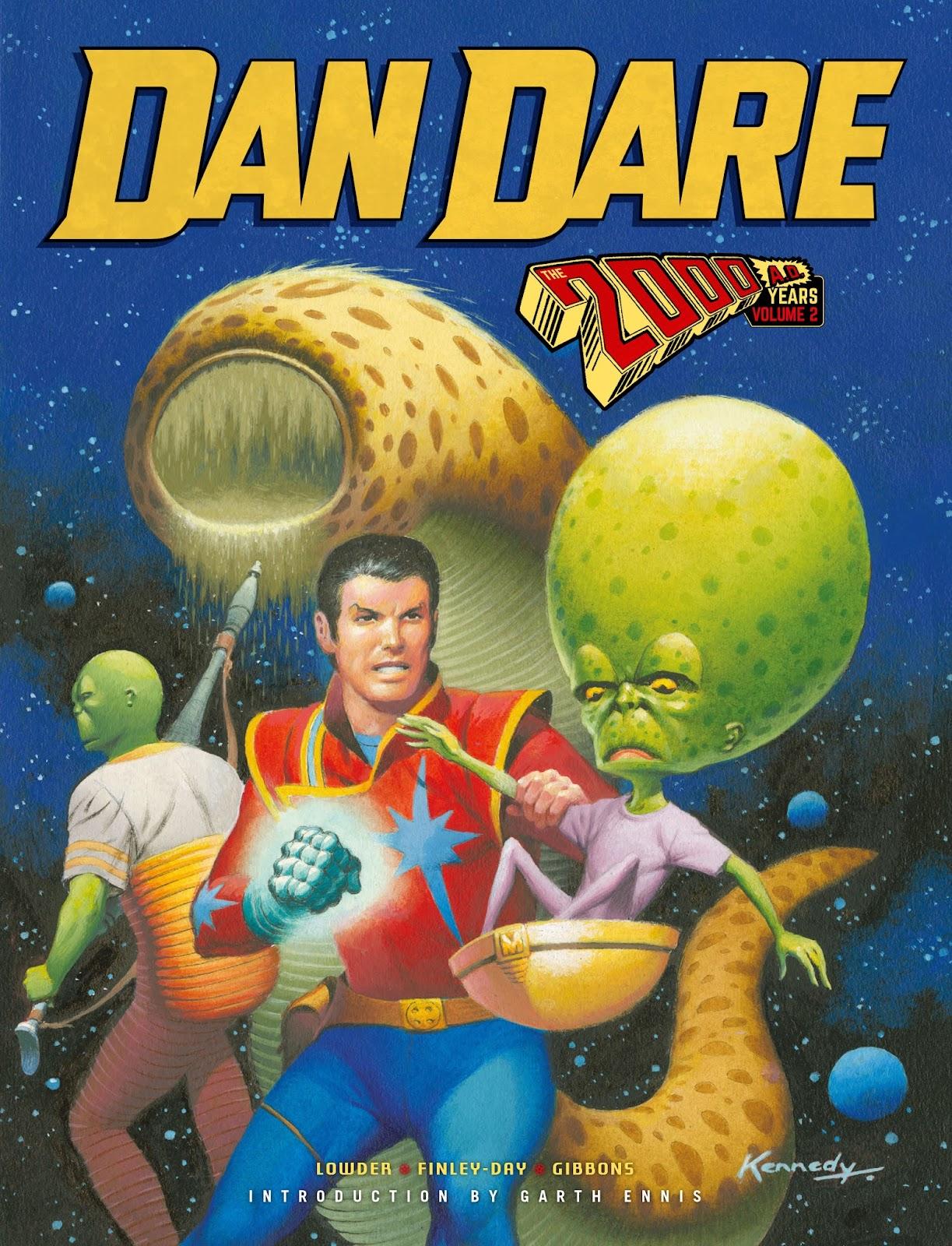 Dan Dare: The 2000 AD Years TPB_2 Page 1