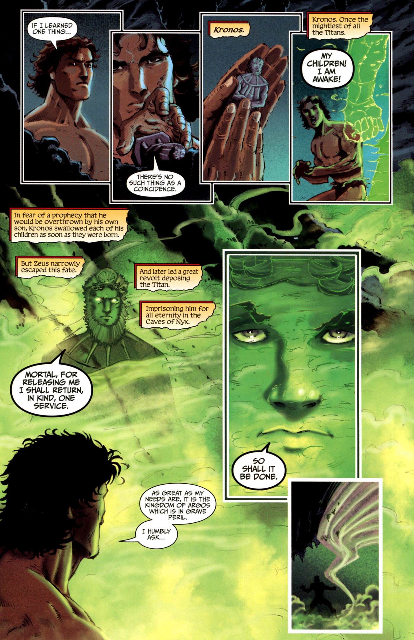 Read online Wrath of the Titans comic -  Issue #4 - 12