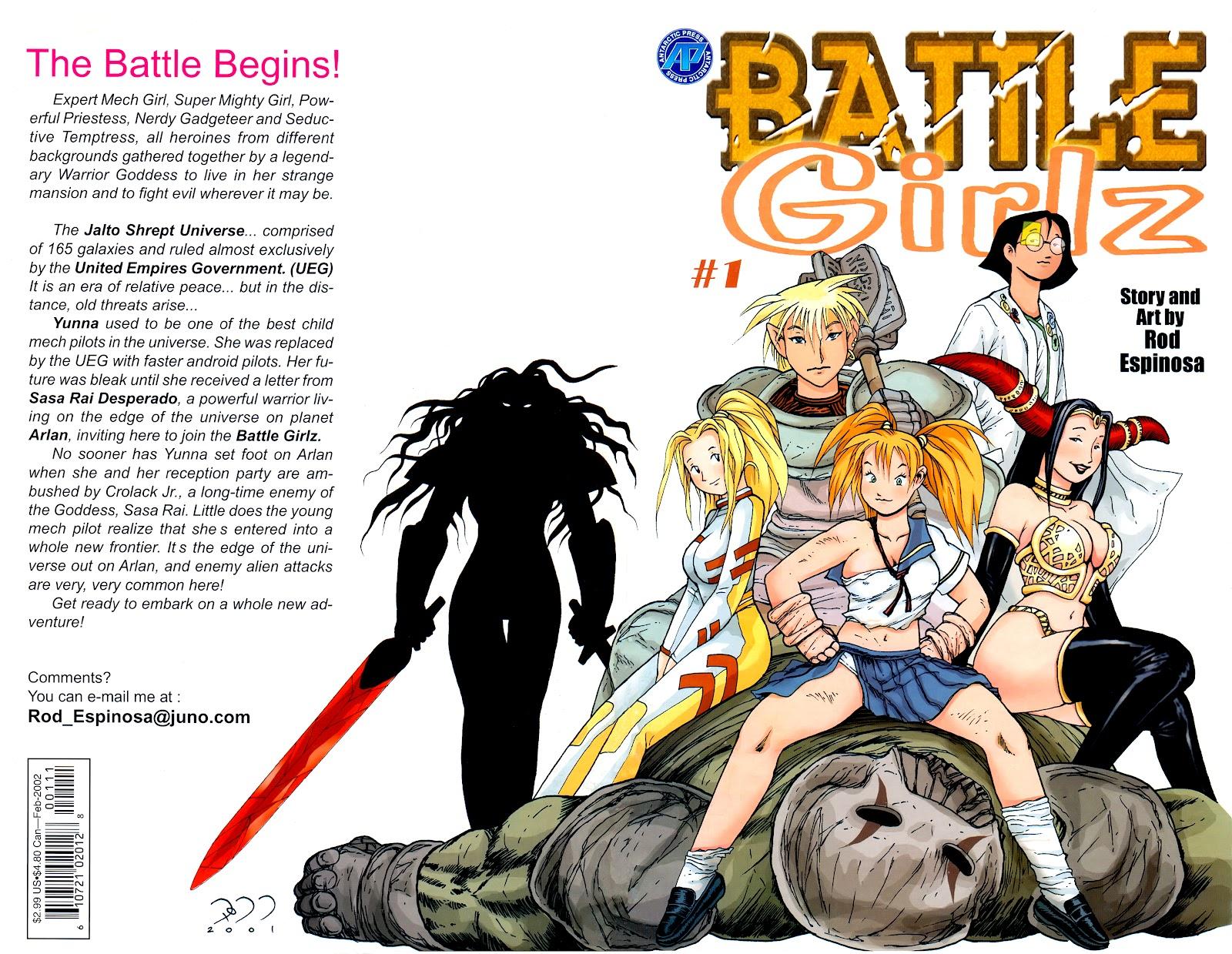Battle Girlz 1 Page 1
