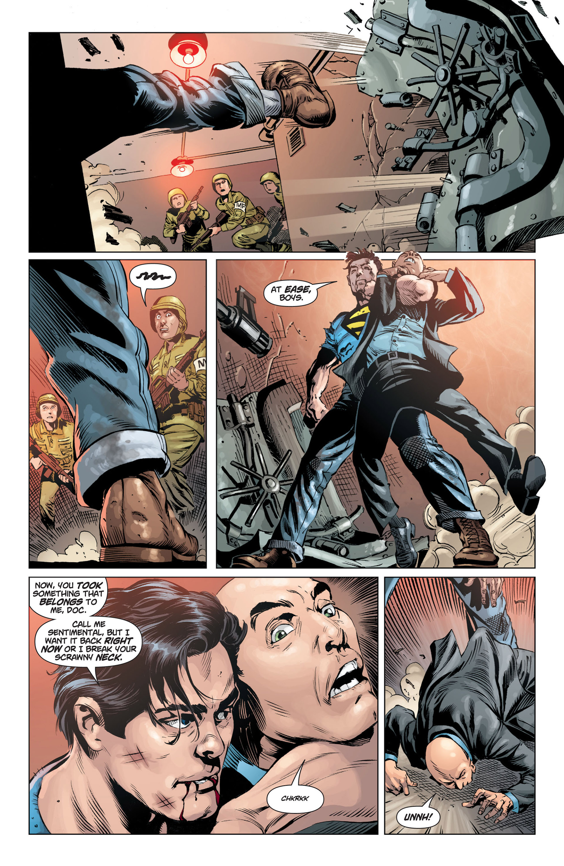 Read online Action Comics (2011) comic -  Issue #2 - 14