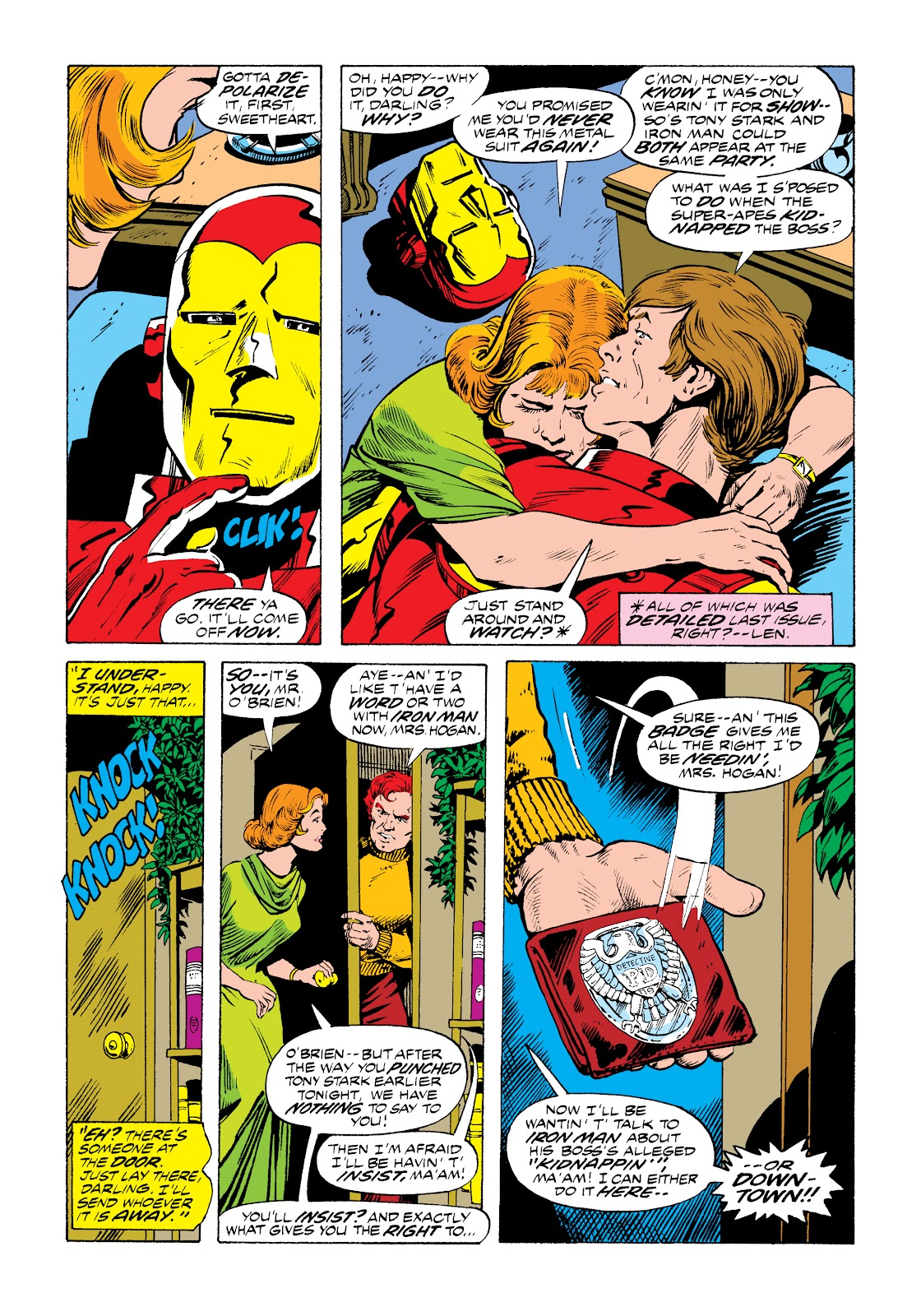 Read online Marvel Masterworks: The Invincible Iron Man comic -  Issue # TPB 11 (Part 1) - 31