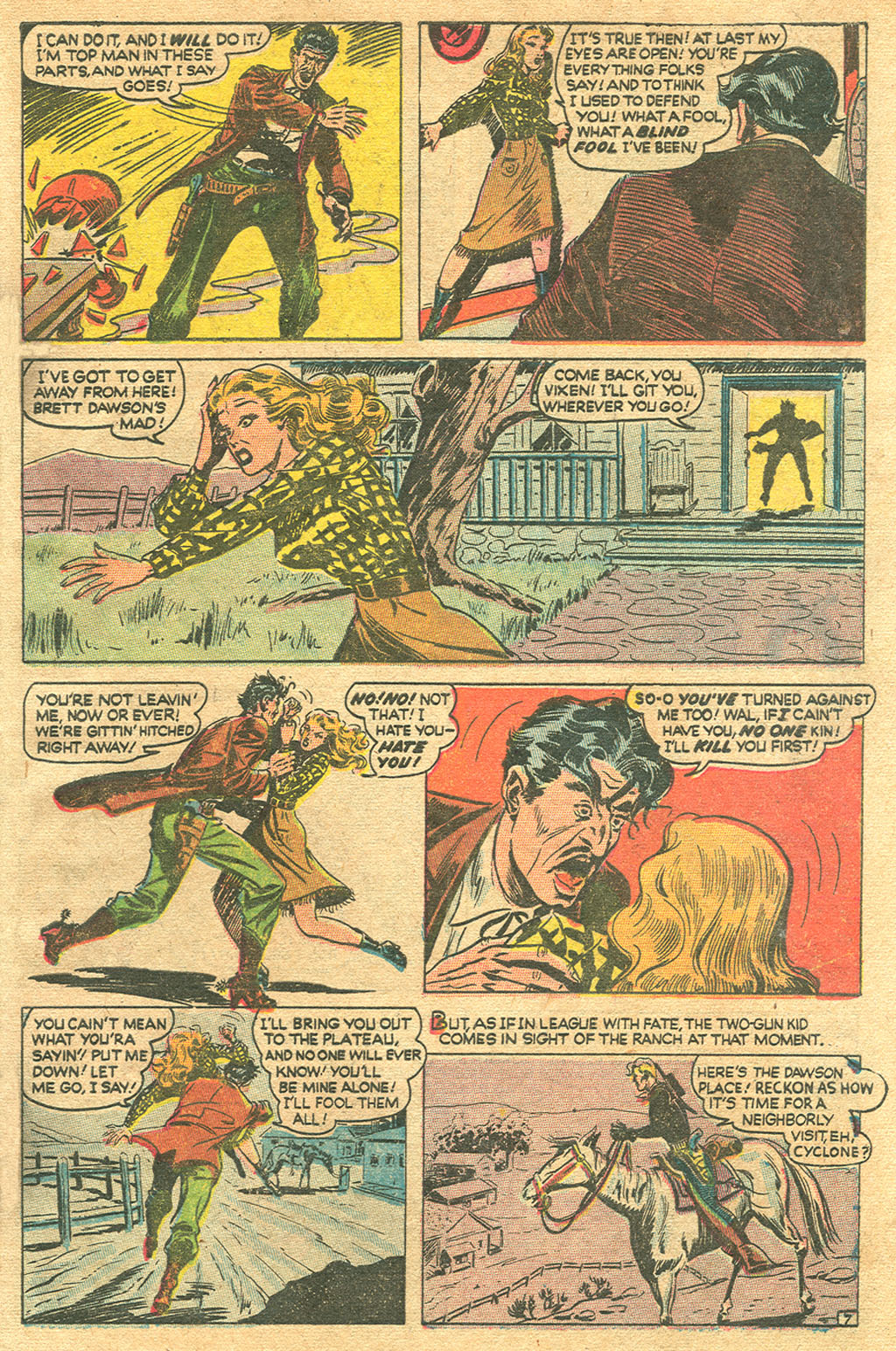 Read online Two-Gun Kid comic -  Issue #1 - 9