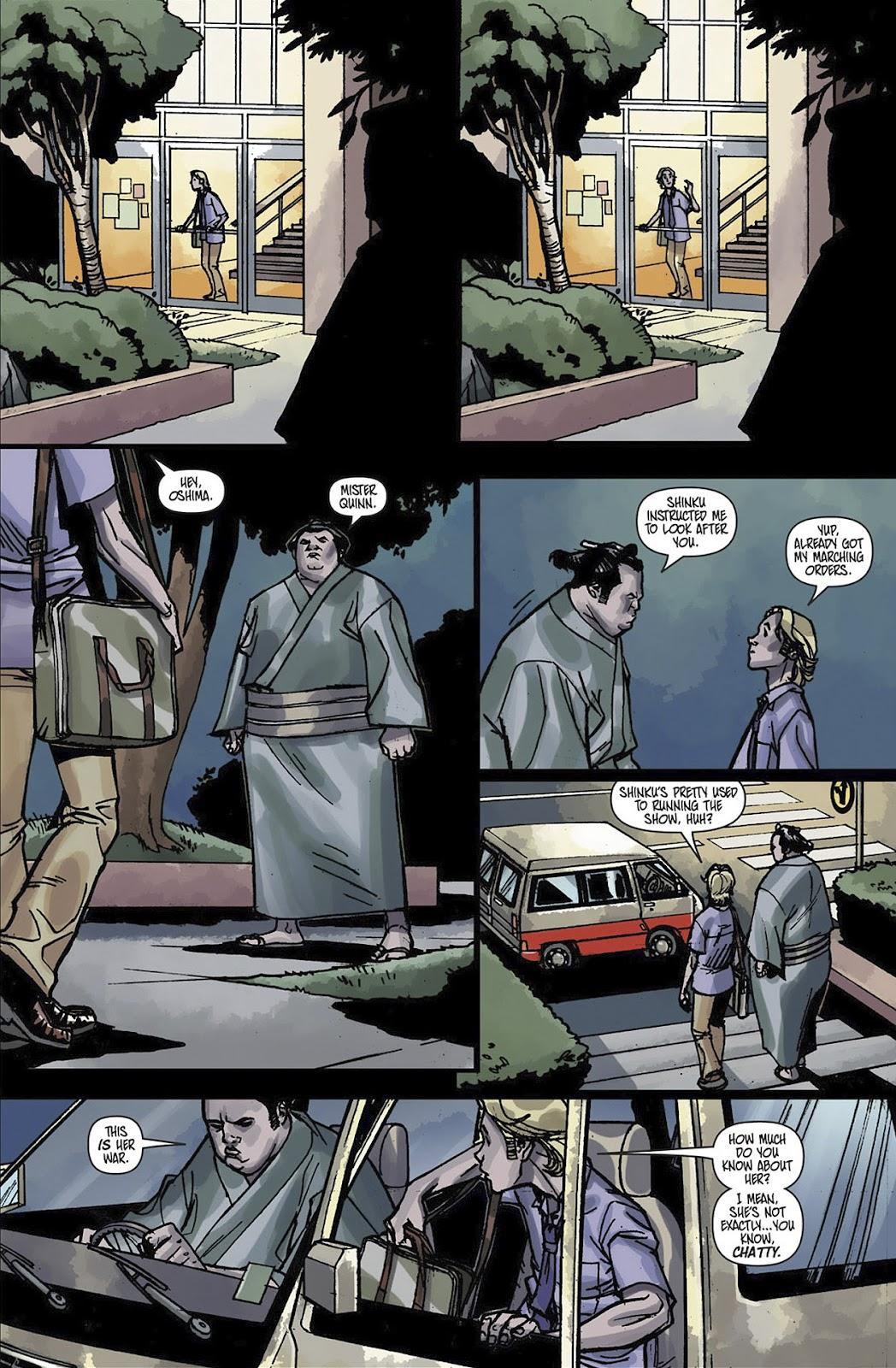 Read online Shinku comic -  Issue #3 - 15