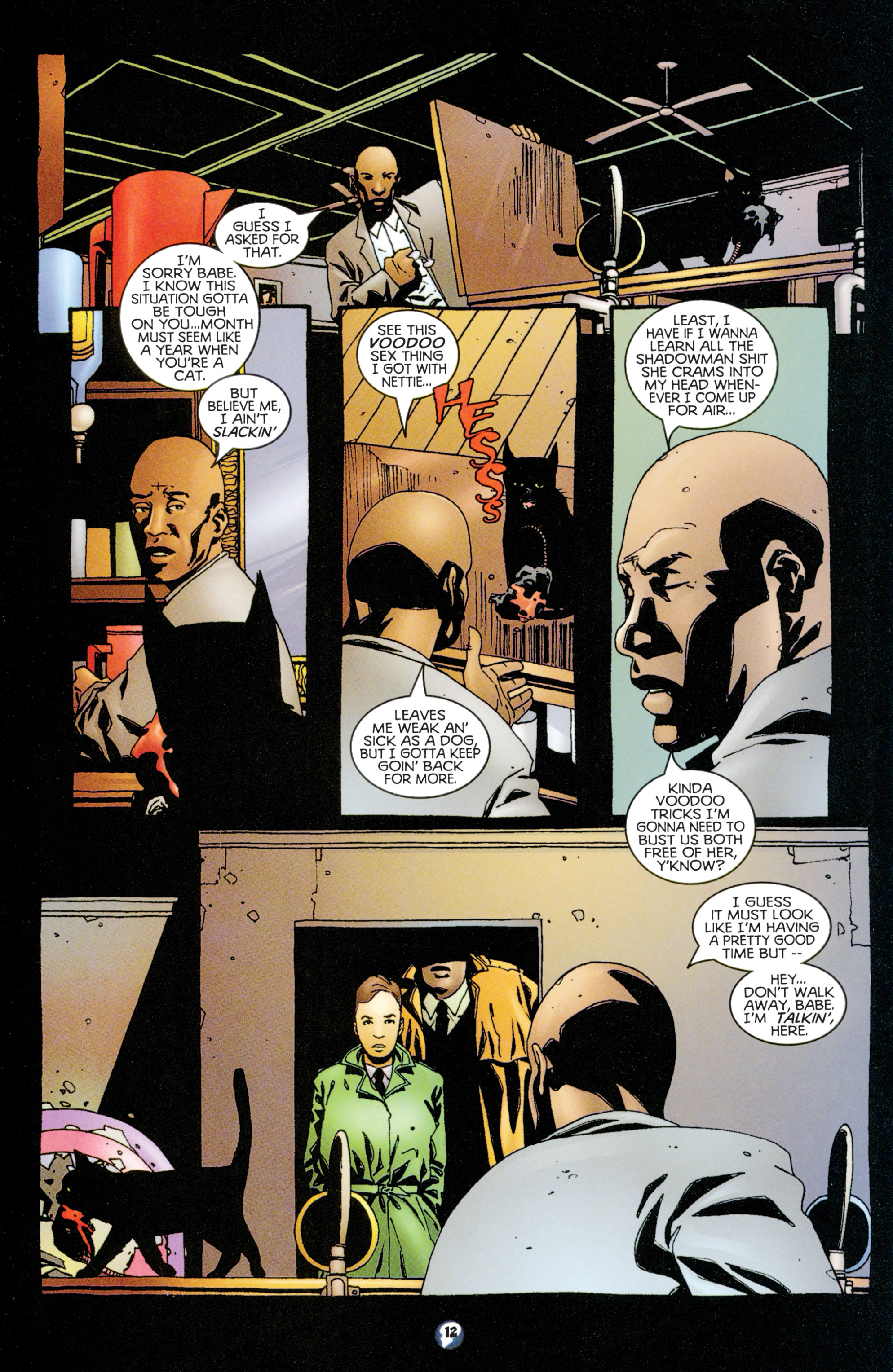 Read online Shadowman (1997) comic -  Issue #9 - 10