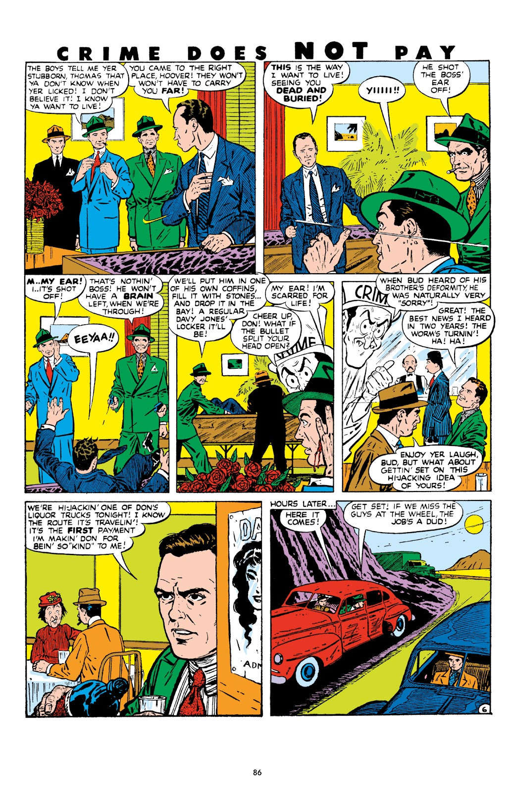 Read online Crime Does Not Pay Archives comic -  Issue # TPB 8 (Part 1) - 87