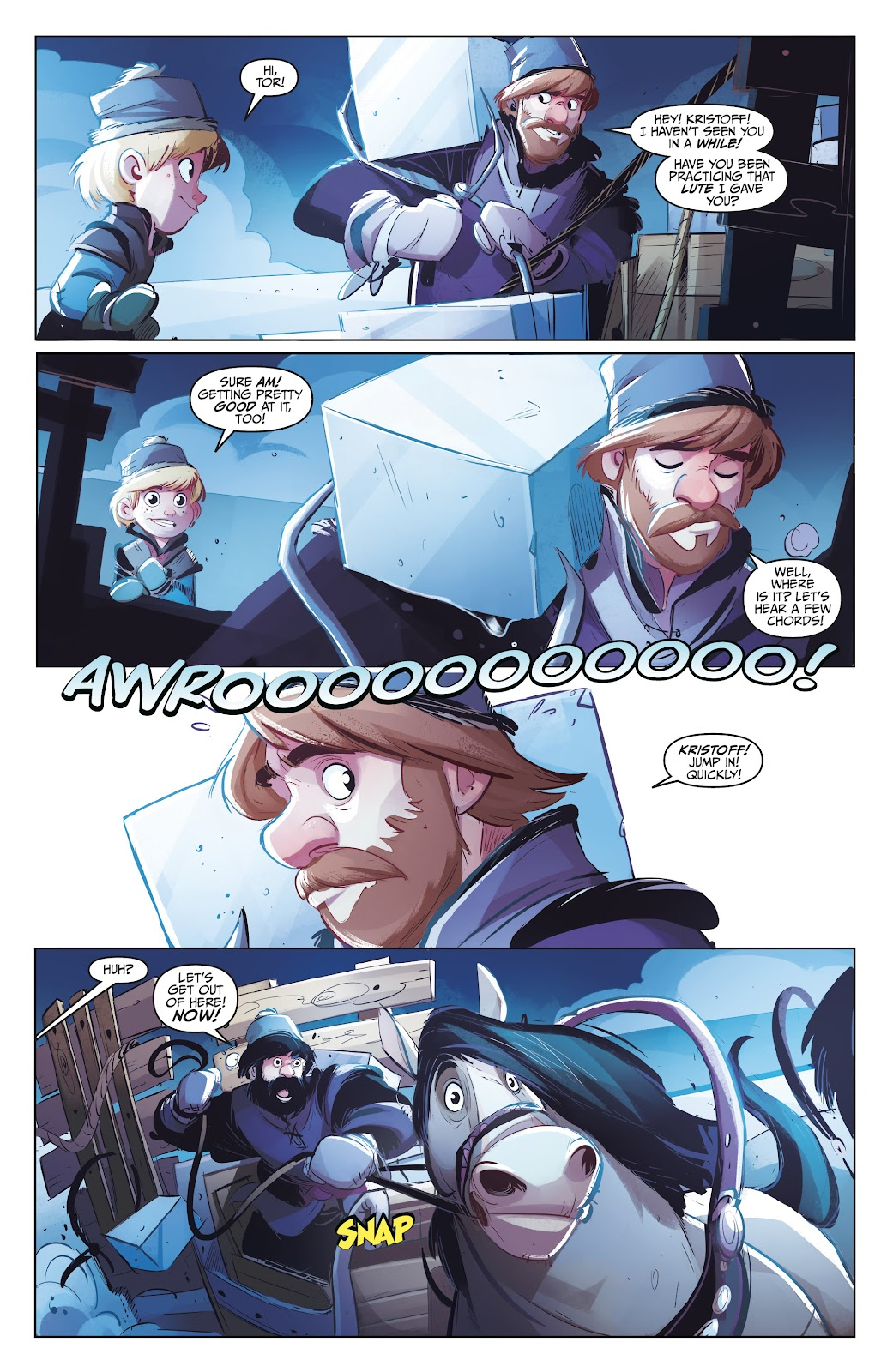 Read online Disney Frozen: The Hero Within comic -  Issue #2 - 5
