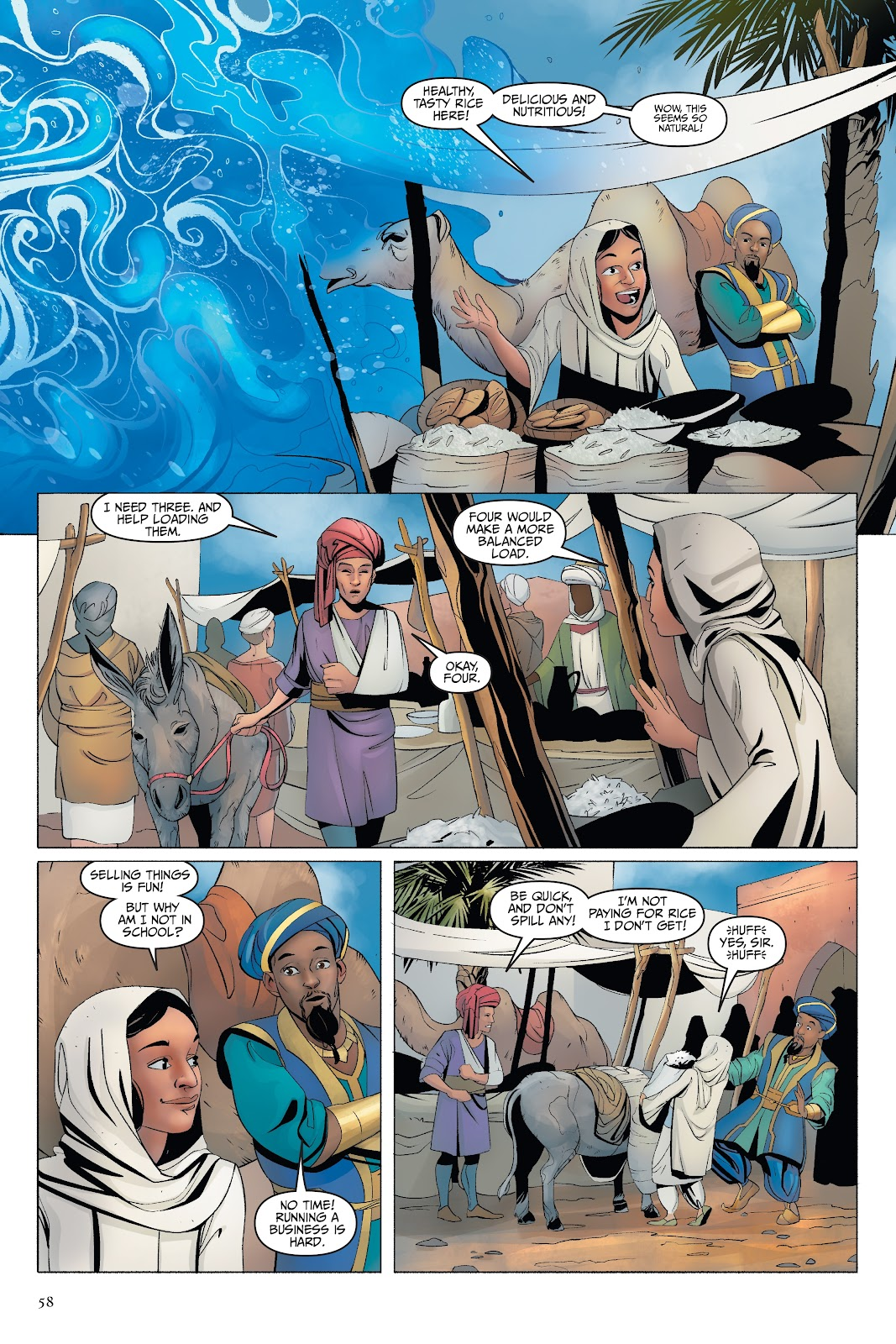 Read online Disney Aladdin: Four Tales of Agrabah comic -  Issue # TPB - 58